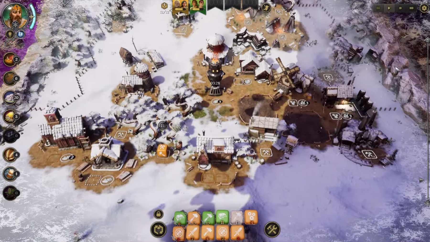 """Aufbau-Simulation mit Würfeln: Gameplay-Trailer zum Spiel """"Dice Legacy"""""""