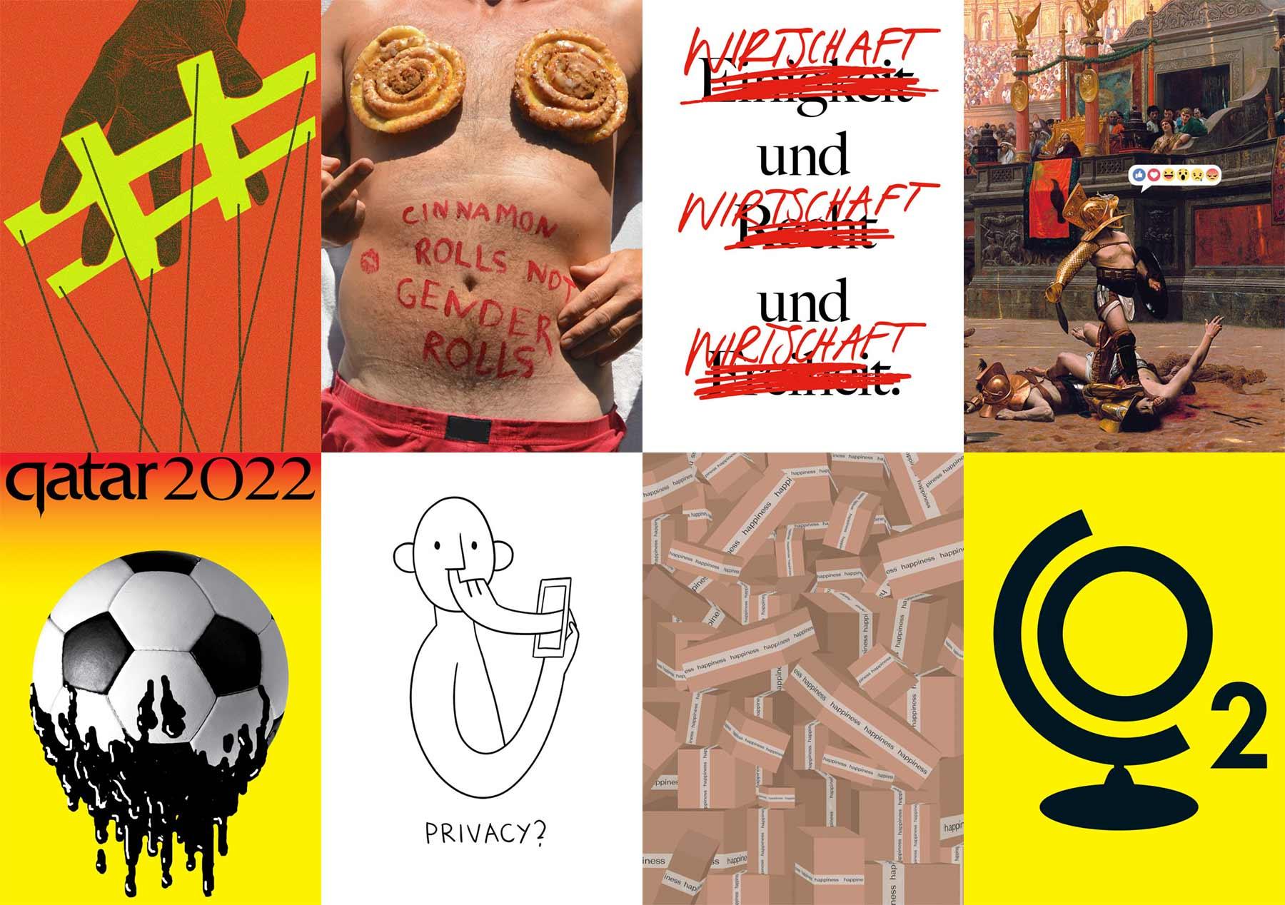 Mut zur Wut: Ausgezeichnete politische Kritik-Plakate