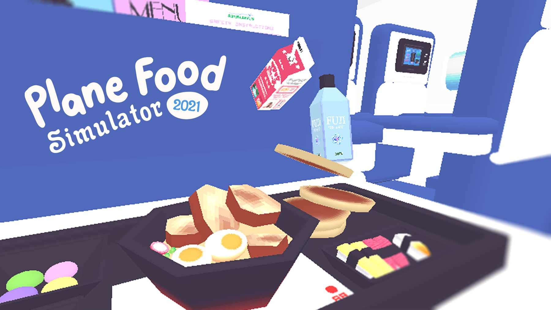 Flugzeug-Essen-Simulator Plane-Food-Simulator-2021