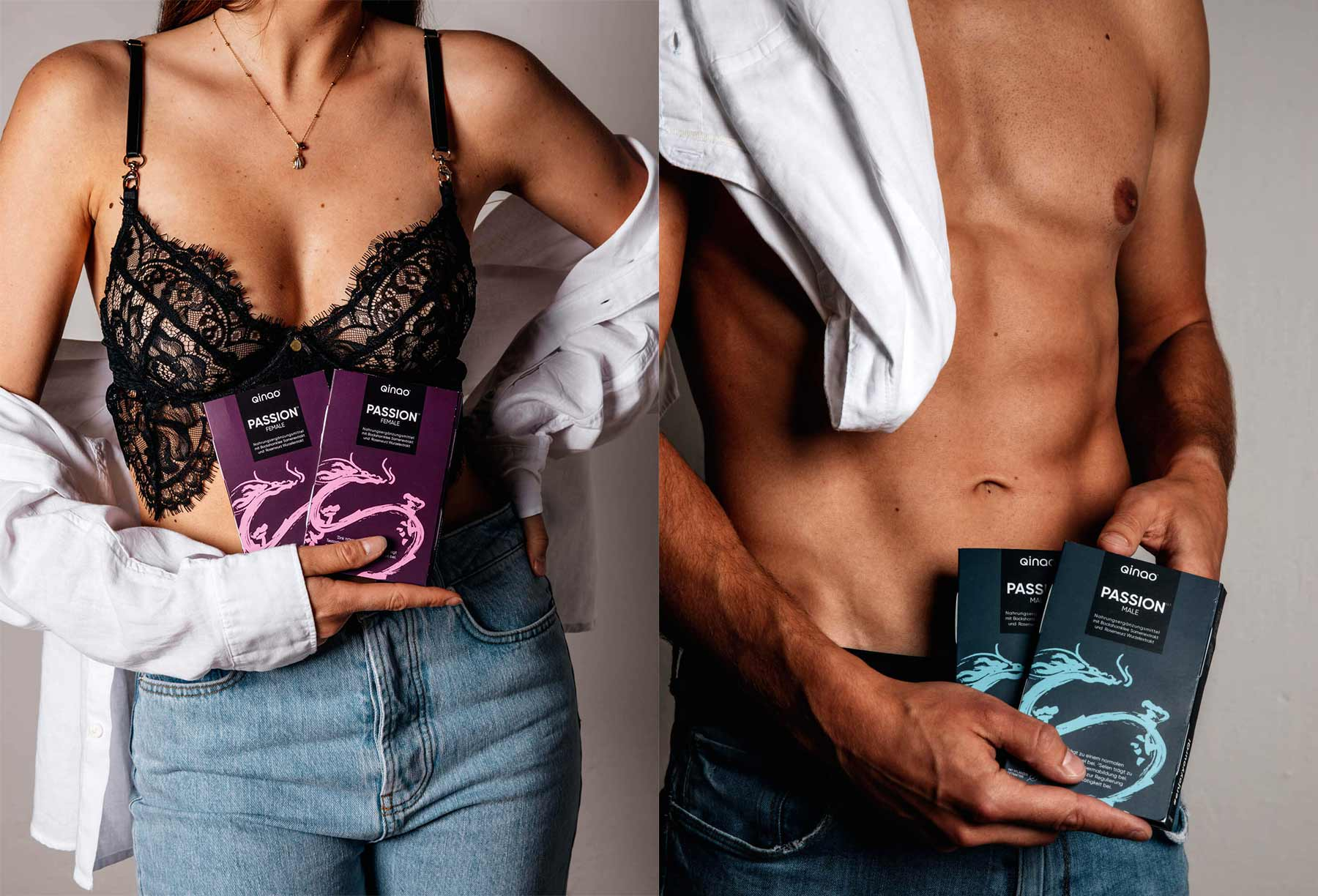 Qinao® PASSION: Nahrungsergänzungsmittel zur Steigerung des Lustempfindens (20%-Gutscheincode!)