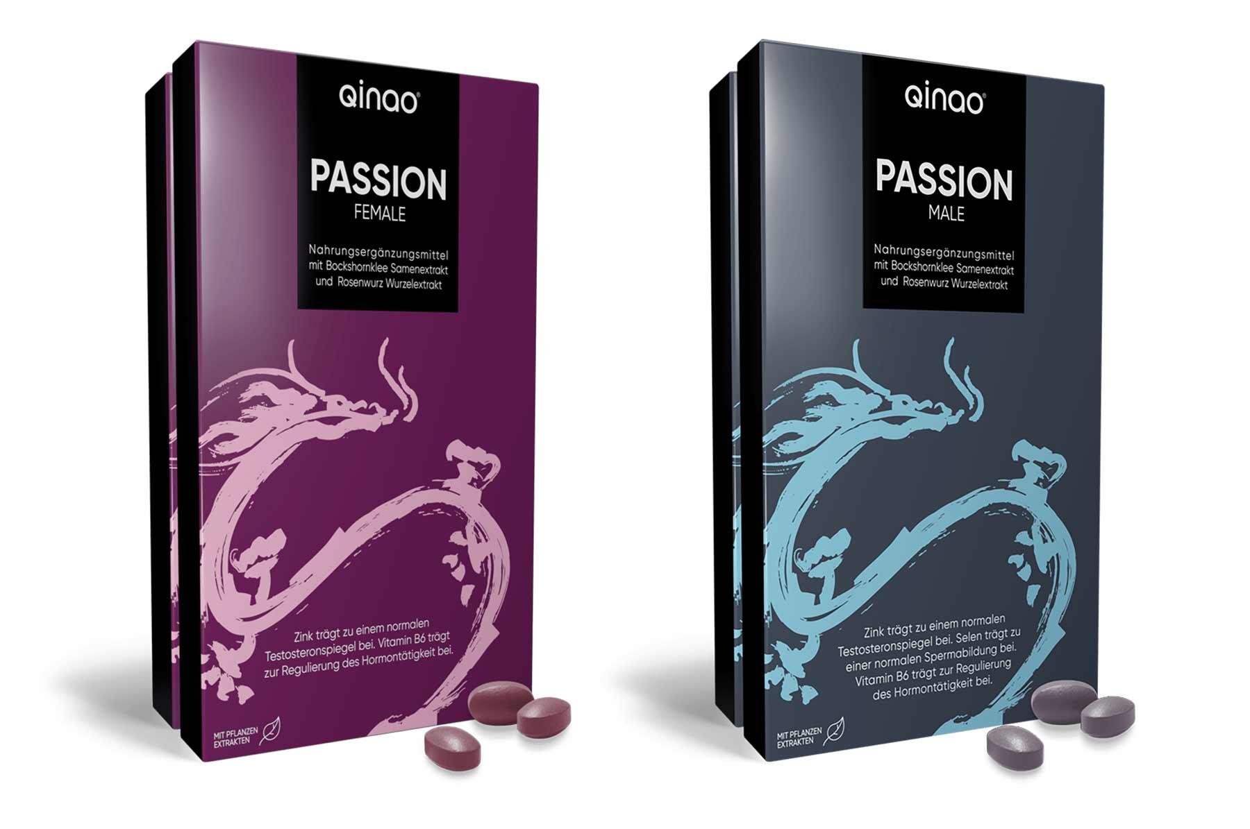 Qinao® PASSION: Dragees zur Steigerung des Lustempfindens (20%-Gutscheincode!) Qinao-Passion_lustempfinden-steigern_02