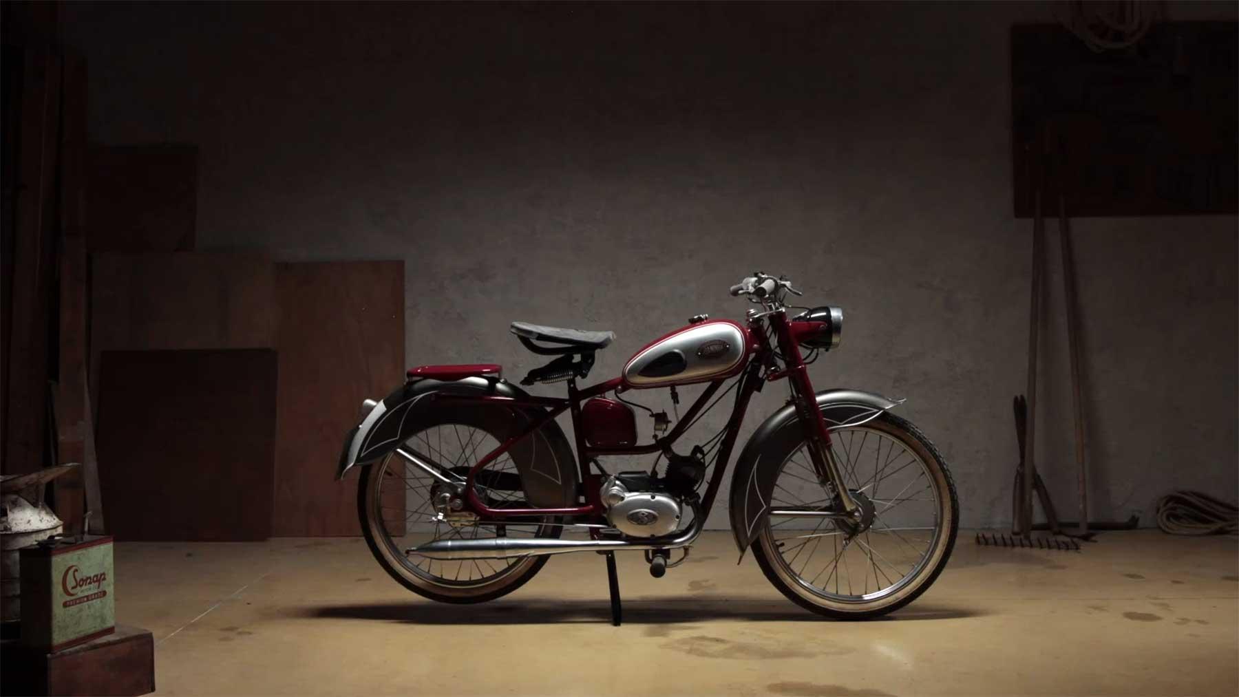 """Motorrad-Stopmotion: """"Ride"""""""
