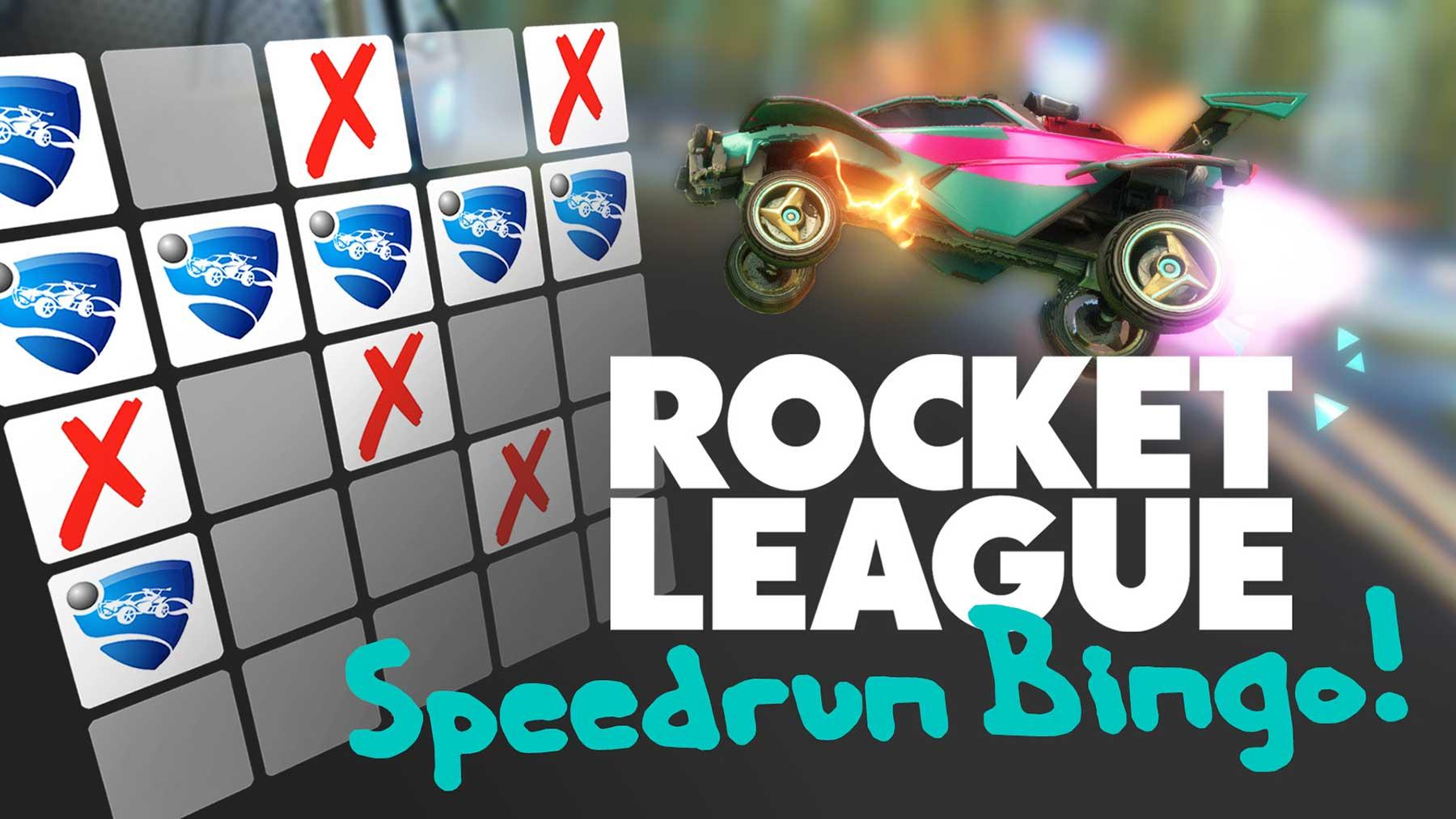 Rocket League Speedrun Bingo