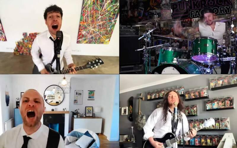 THE BEAT-HELLS rocken Beatles-Cover mit Punk-Attitüde
