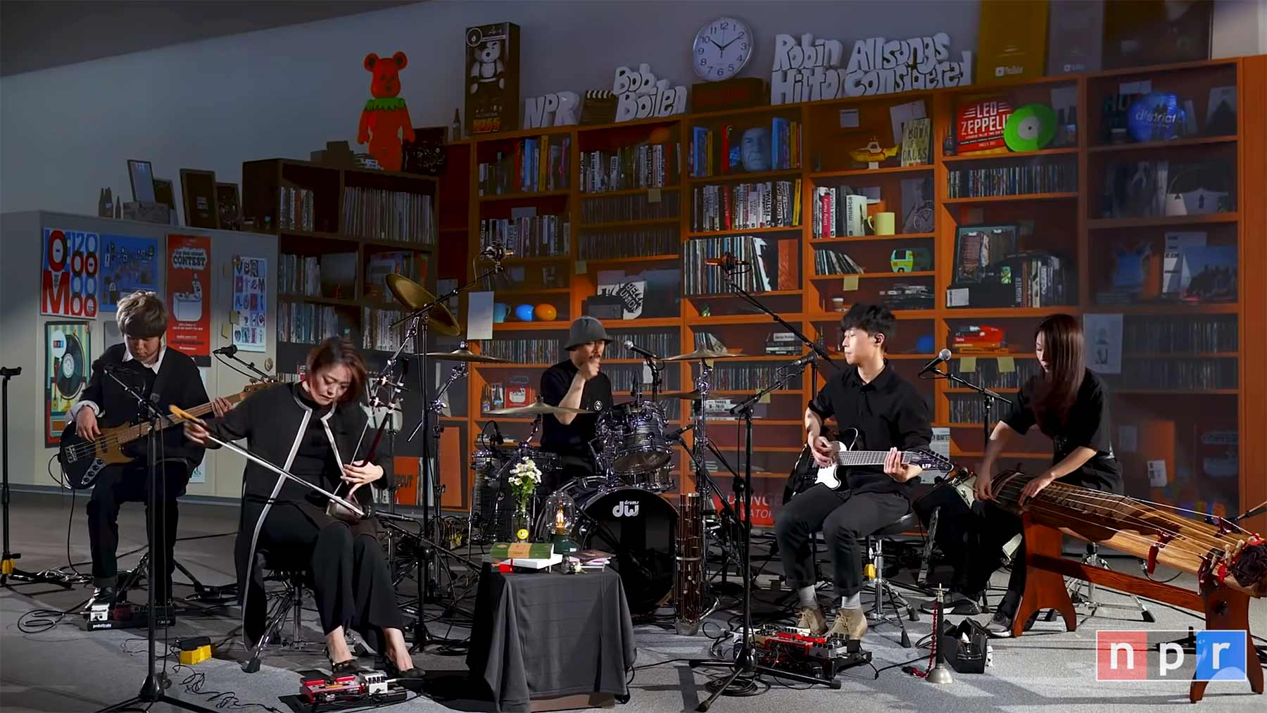Tiny Desk (Home) Concert: JAMBINAI
