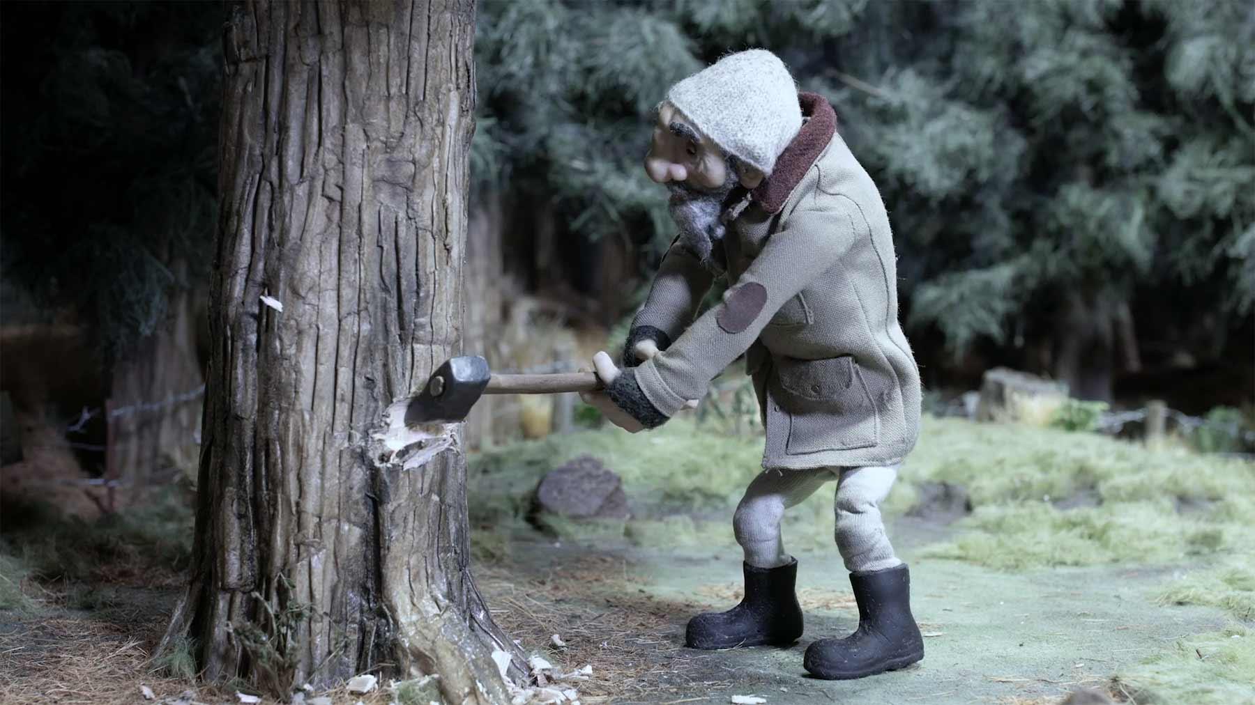 "Stopmotion-Kurzfilm: ""Winter's Blight"""