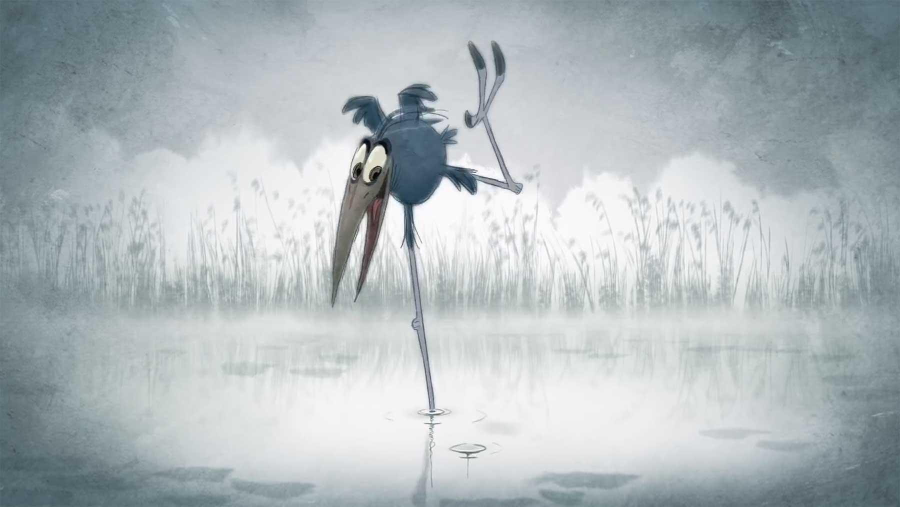 """Animierter Kurzfilm: """"Bird Karma"""""""