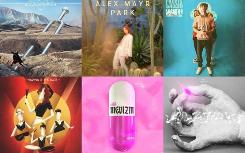 Album-Kurzreviews: Neues von Gaspard Augé, Alex Mayr, Cassia, Marina & The Kats, Taha, FIBEL