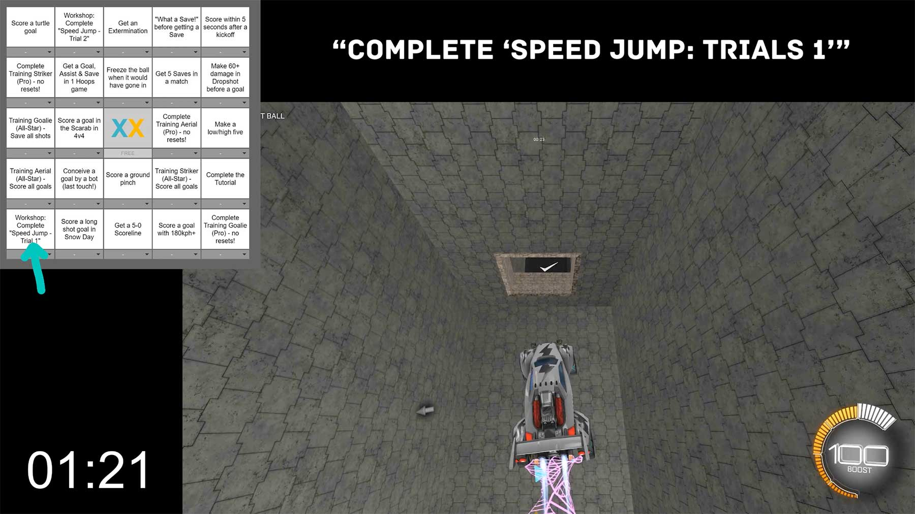 Rocket League Speedrun Bingo rocket-league-speedrun-challenge-bingo