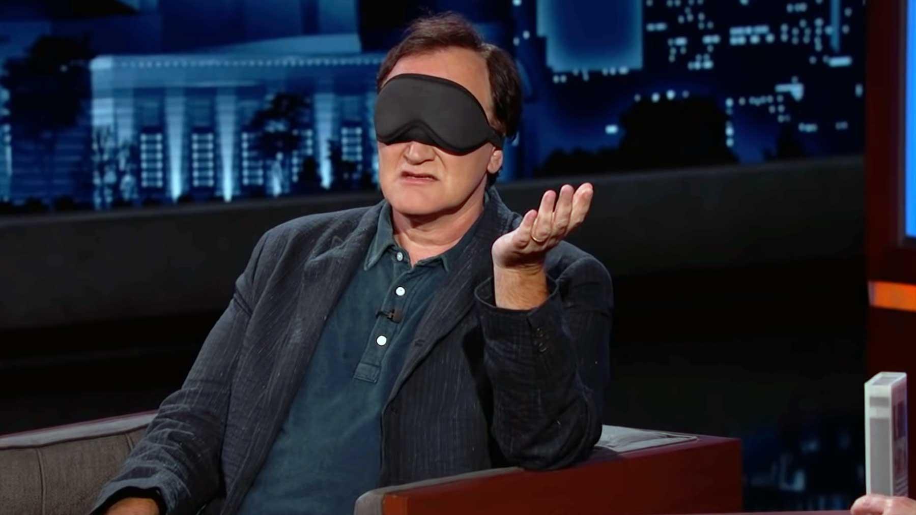 Quentin Tarantino rät Filme anhand ihrer VHS-Beschreibungen