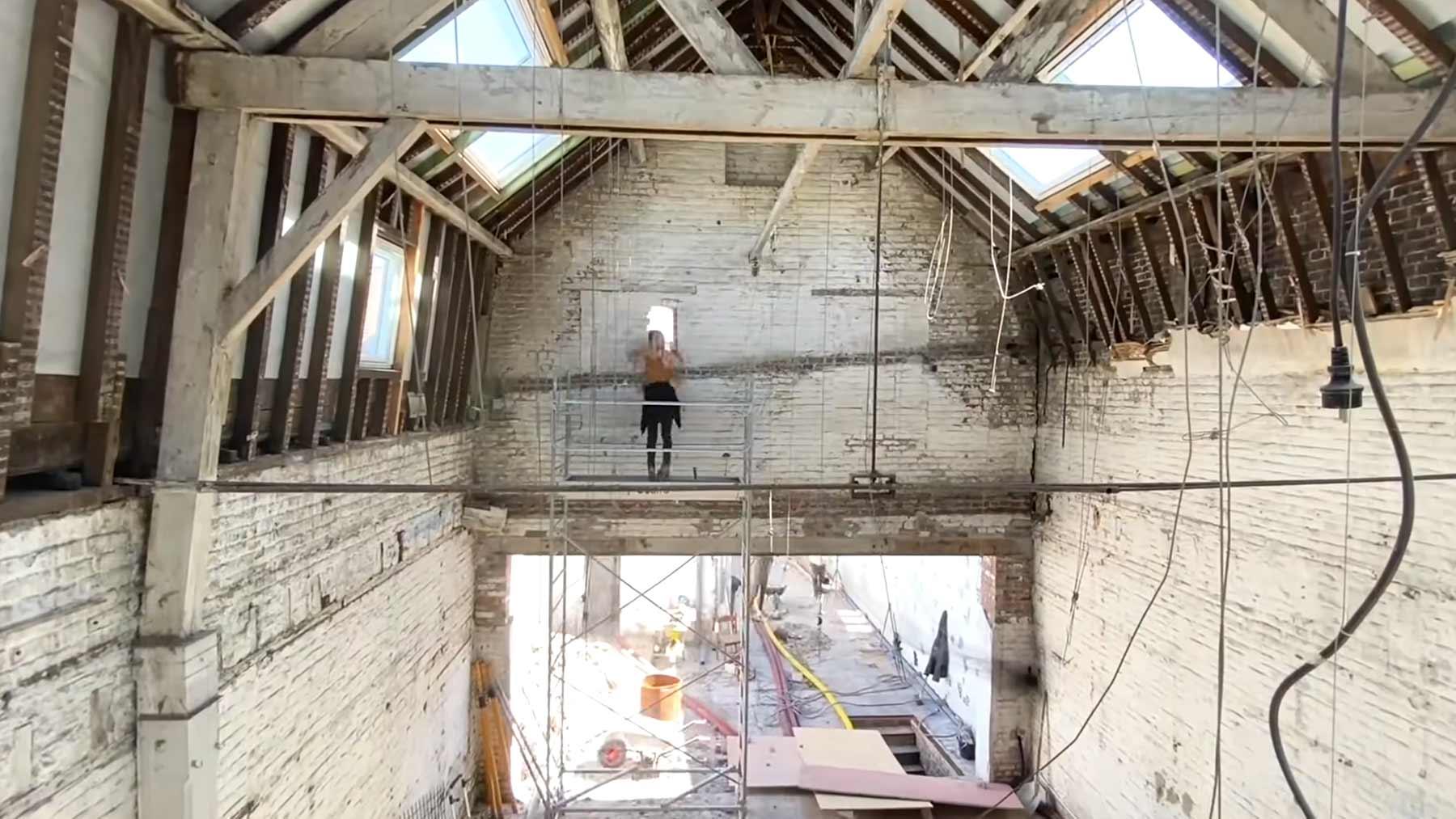 Timelapse: Eine alte Fabrik wird zum modernen Wohnraum timelapse-2-jahre-renovierung