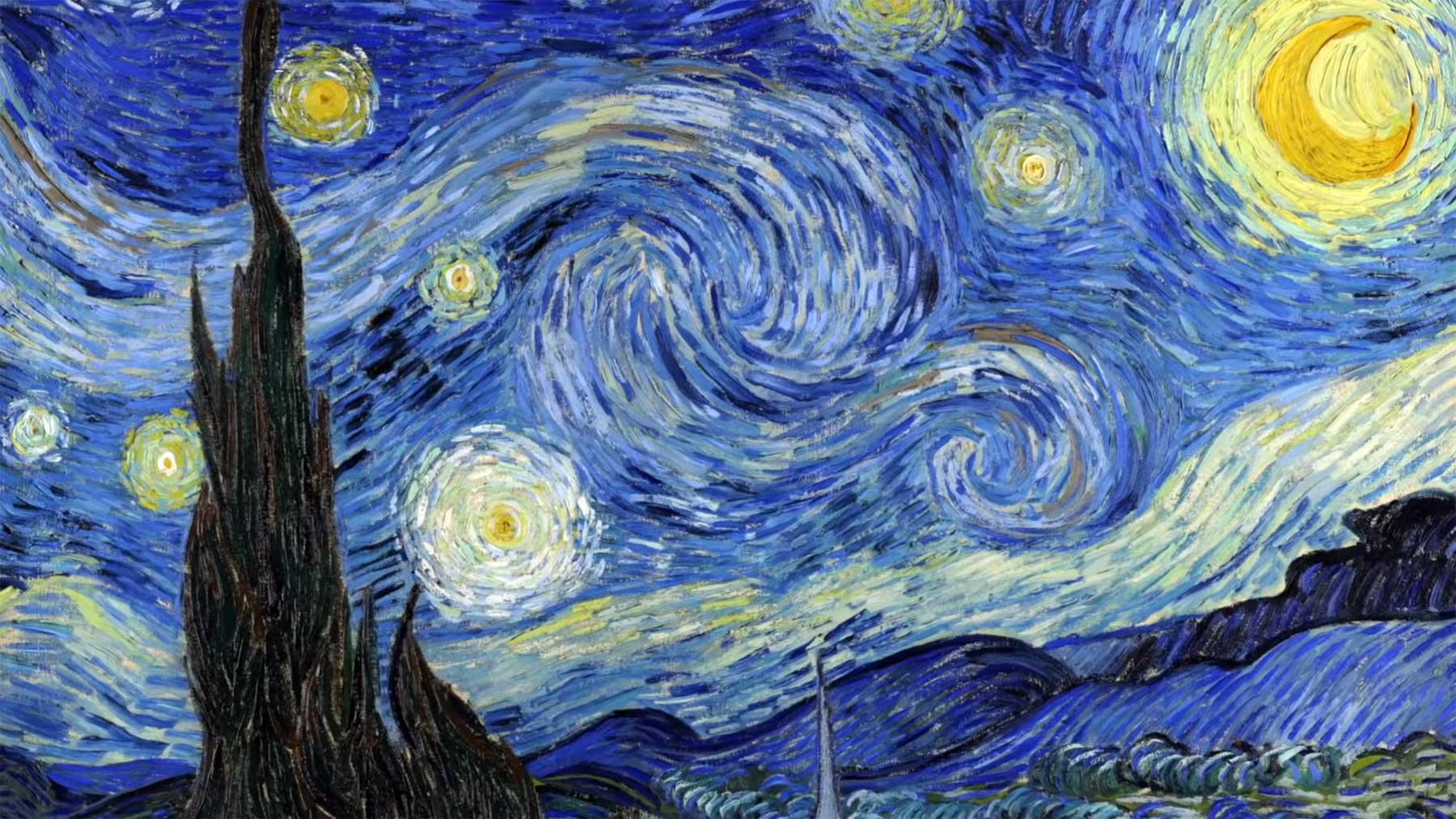 """Kunst erklärt: """"Die Sternennacht"""" von Vincent van Gogh vincent-van-gogh-die-sternennacht-interpretation"""