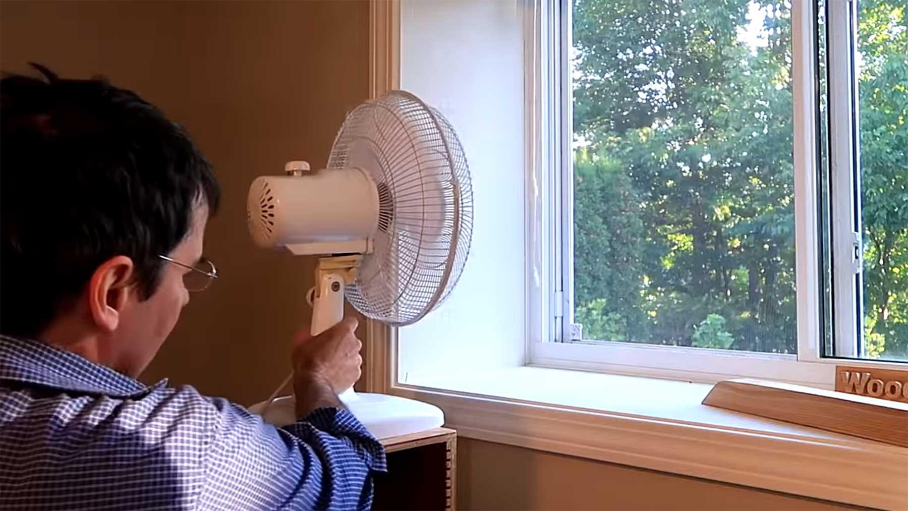 Wo stellt man den Ventilator am besten hin?