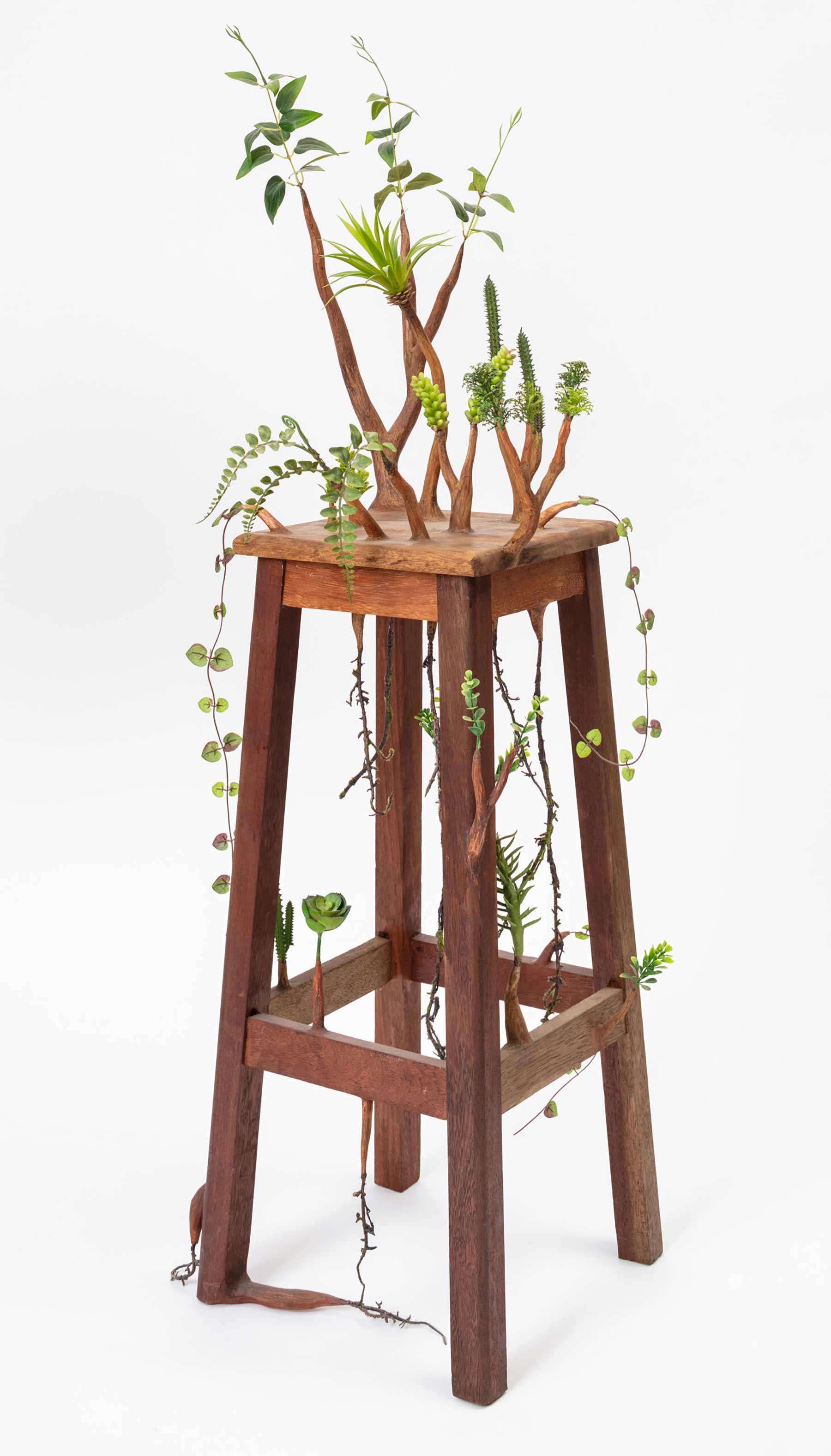 Verpflanzlichte Holzgegenstände von Camille Kachani Camille-Kachani-2021_02