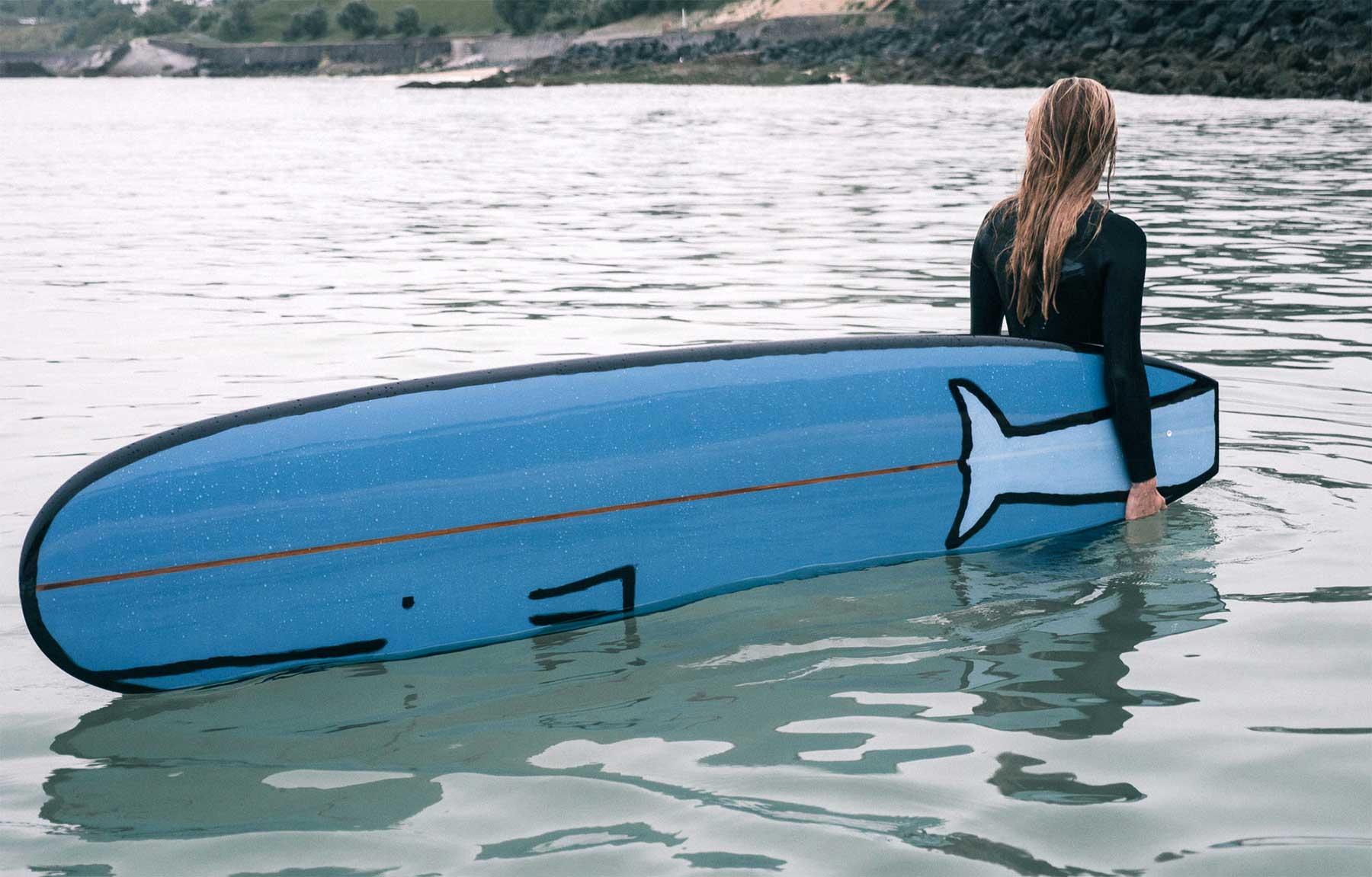Tier-Surfbrett-Designs von Jean Jullien