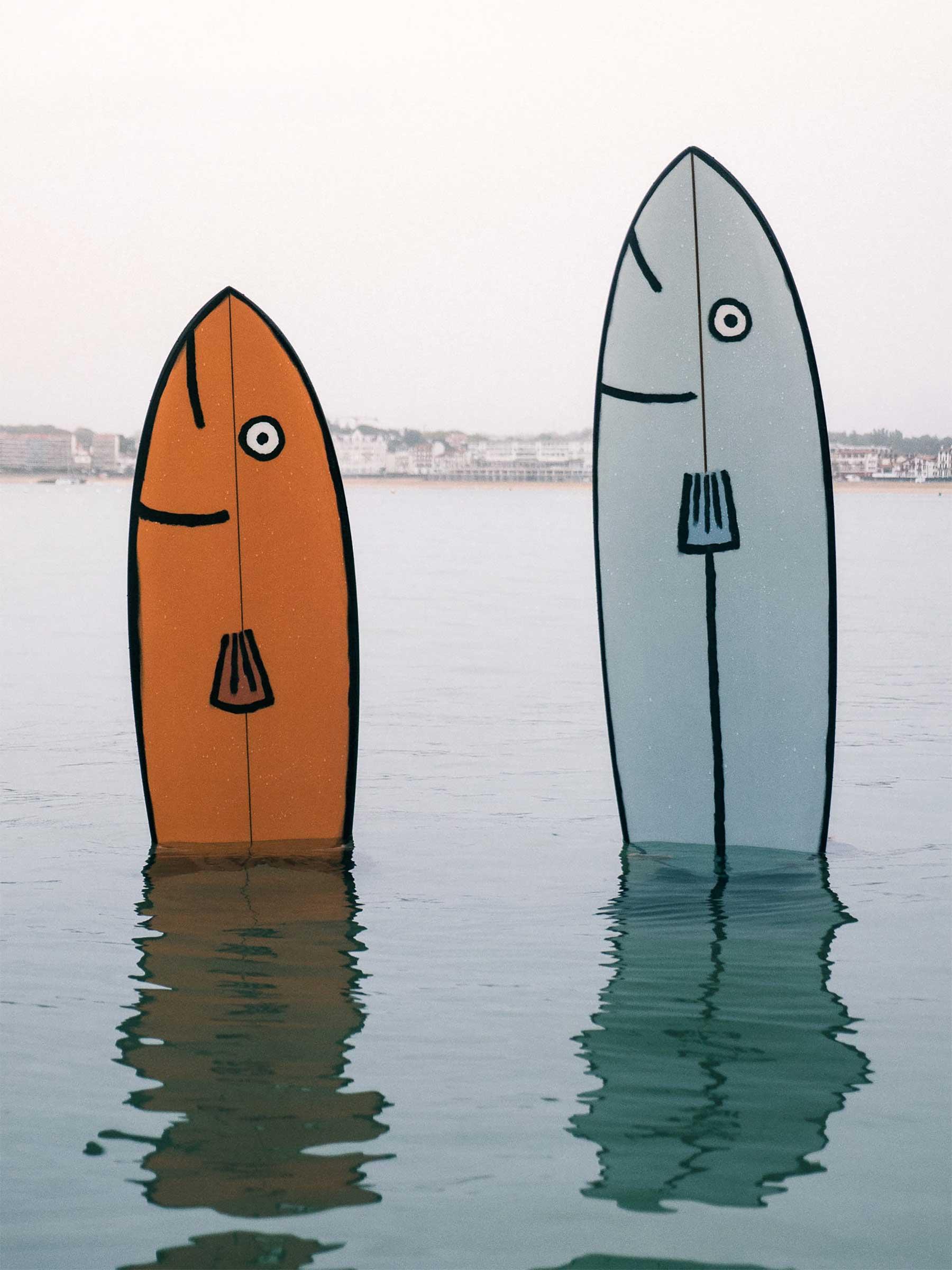 Tier-Surfbrett-Designs von Jean Jullien Jean-Jullien-surfbretter_02