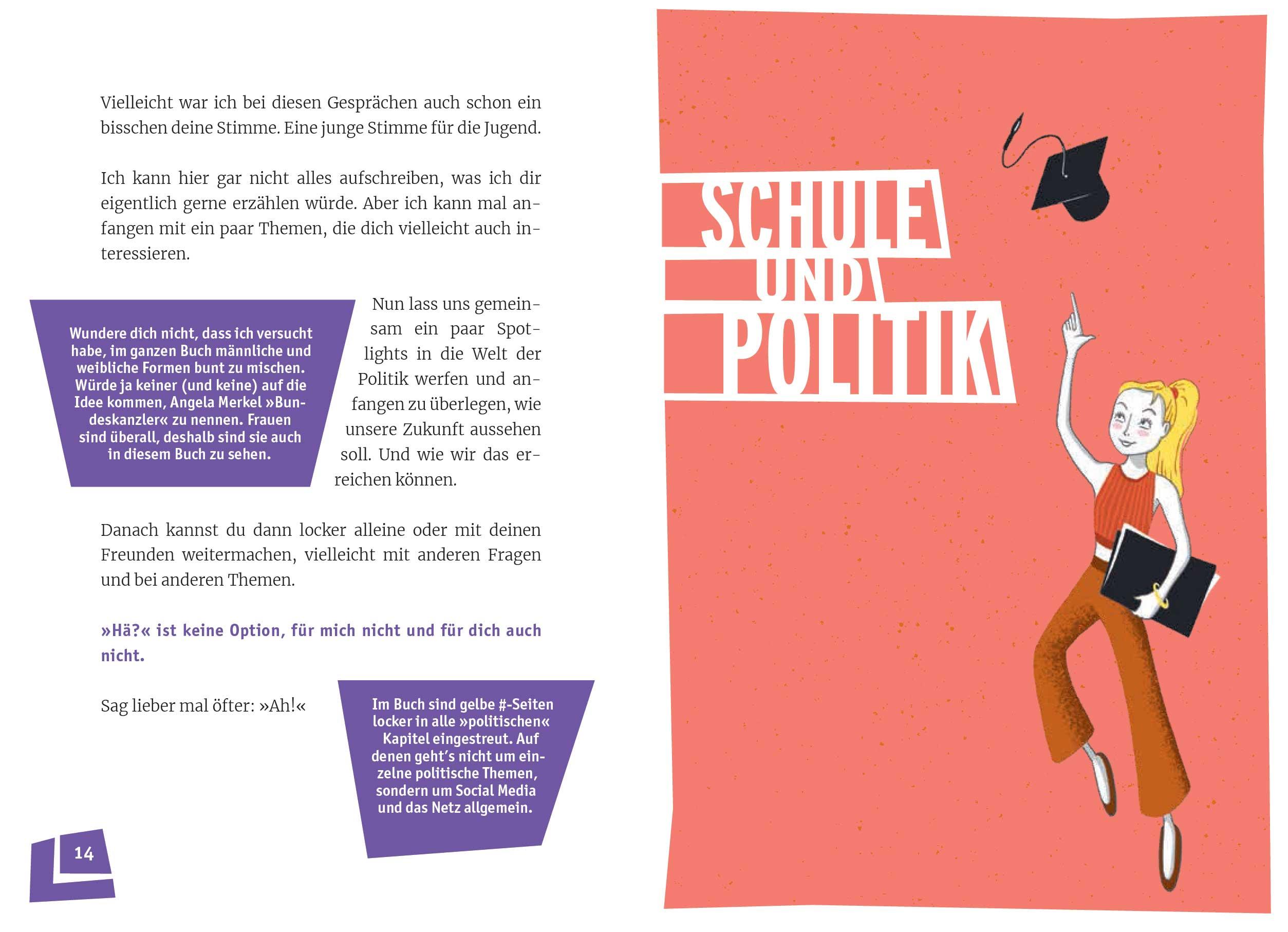 """Gedanken einer 19-Jährigen: """"How to Politik"""" - Vom Nagellackblog zum jugendpolitischen Buch Livia_Buch-Ausschnitt_01"""