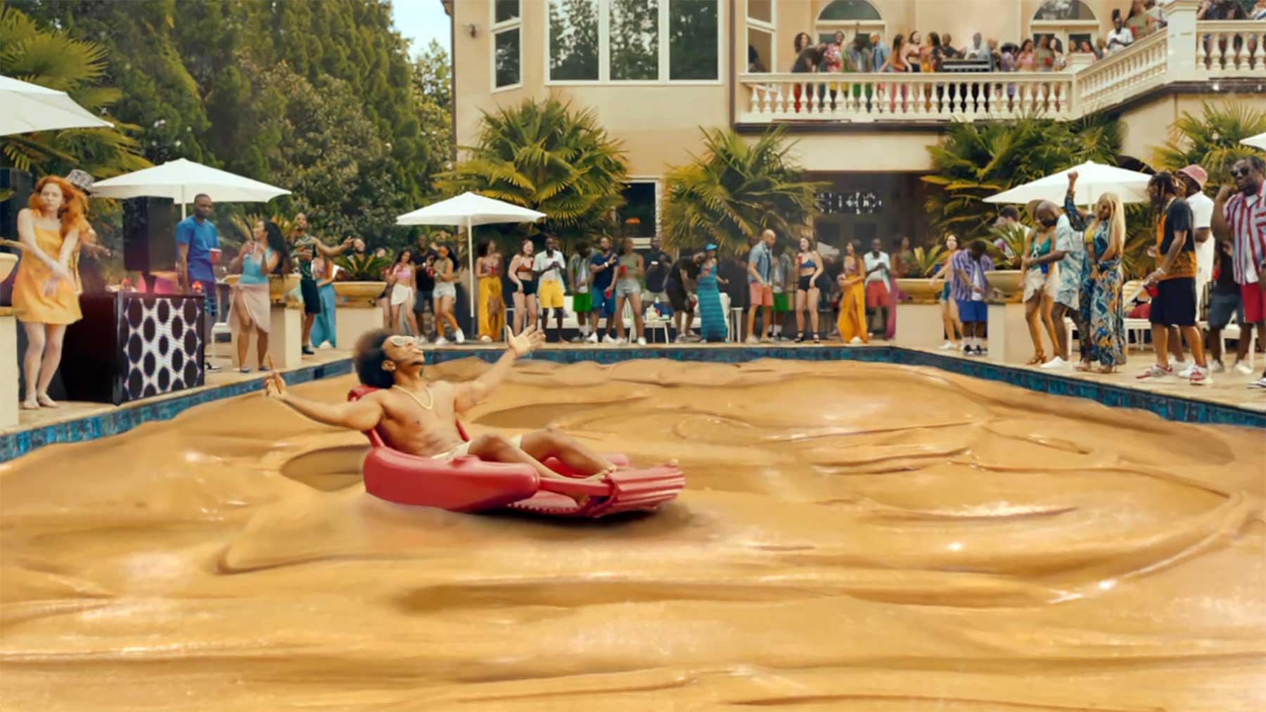 Verrückte Erdnussbutter-Werbung mit Ludacris