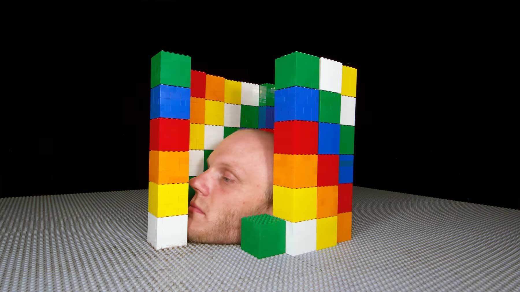 """Stopmotion: """"LEGO 8 Bit-Trip 2"""" von Rymdreglage"""