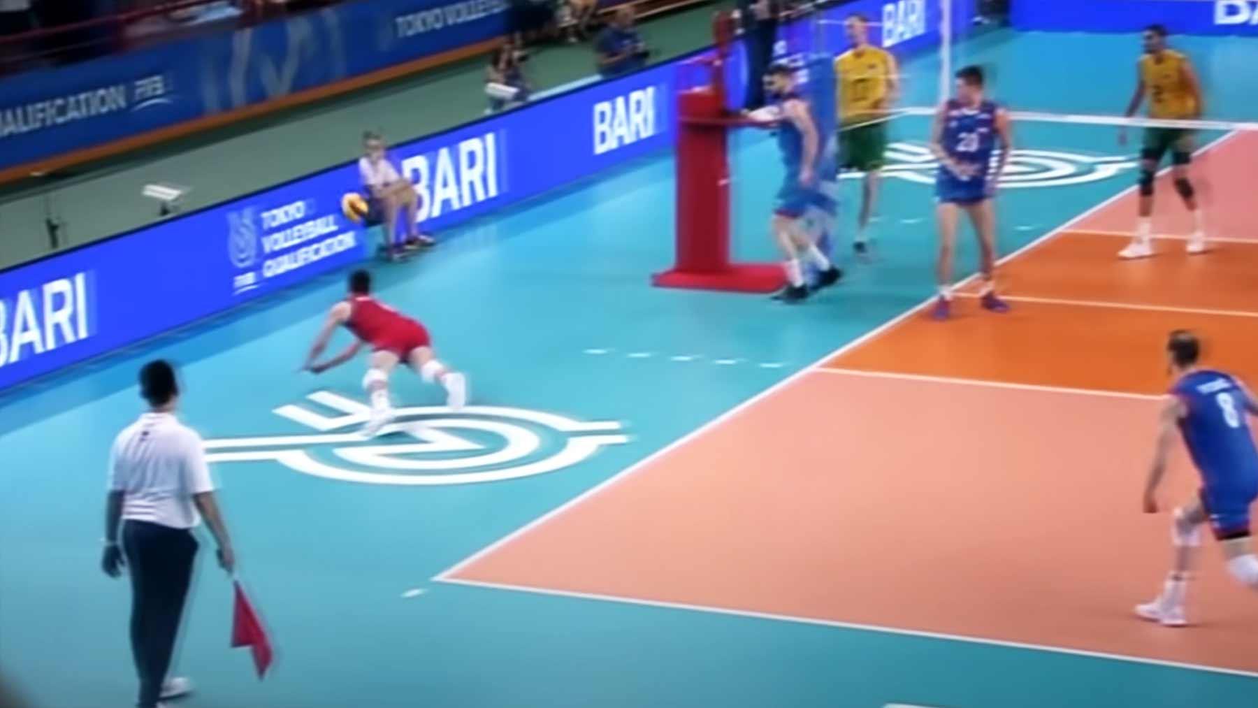 Lauter krasse Volleyball-Rettungsaktionen