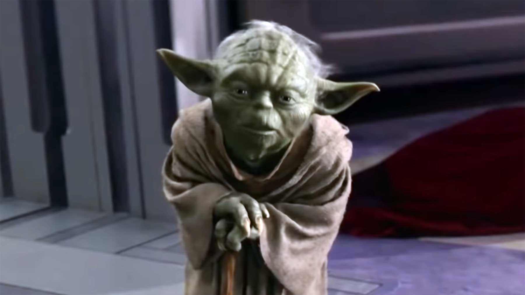 Wenn Yoda ganz normal sprechen würde…