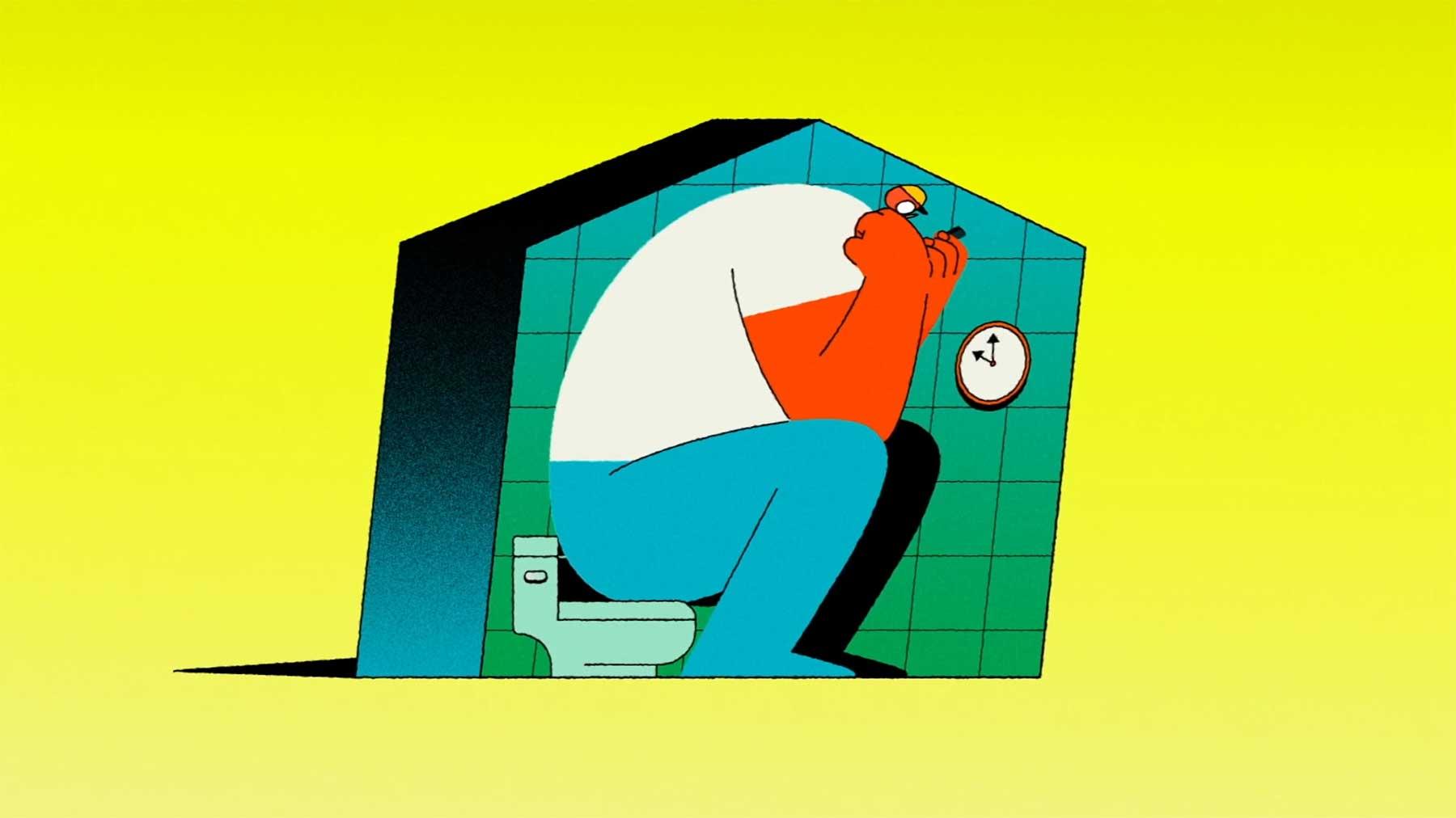 "Kurz-Animation: ""Blip"""