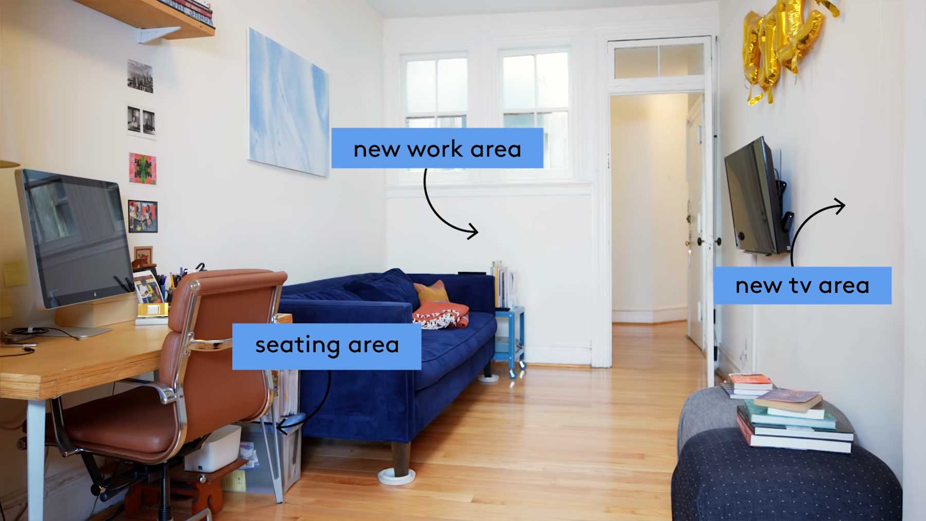 Wie ein professioneller Designer einen Raum optimiert