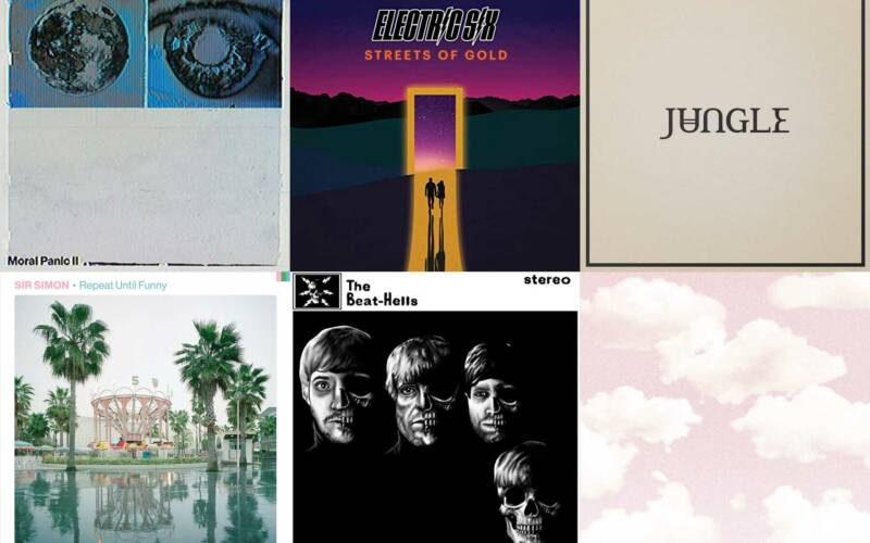 Kurzreviews: Neue Alben von Nothing But Thieves, Electric Six, Jungle, Sir Simon, The Beat-Hells & Turnstile