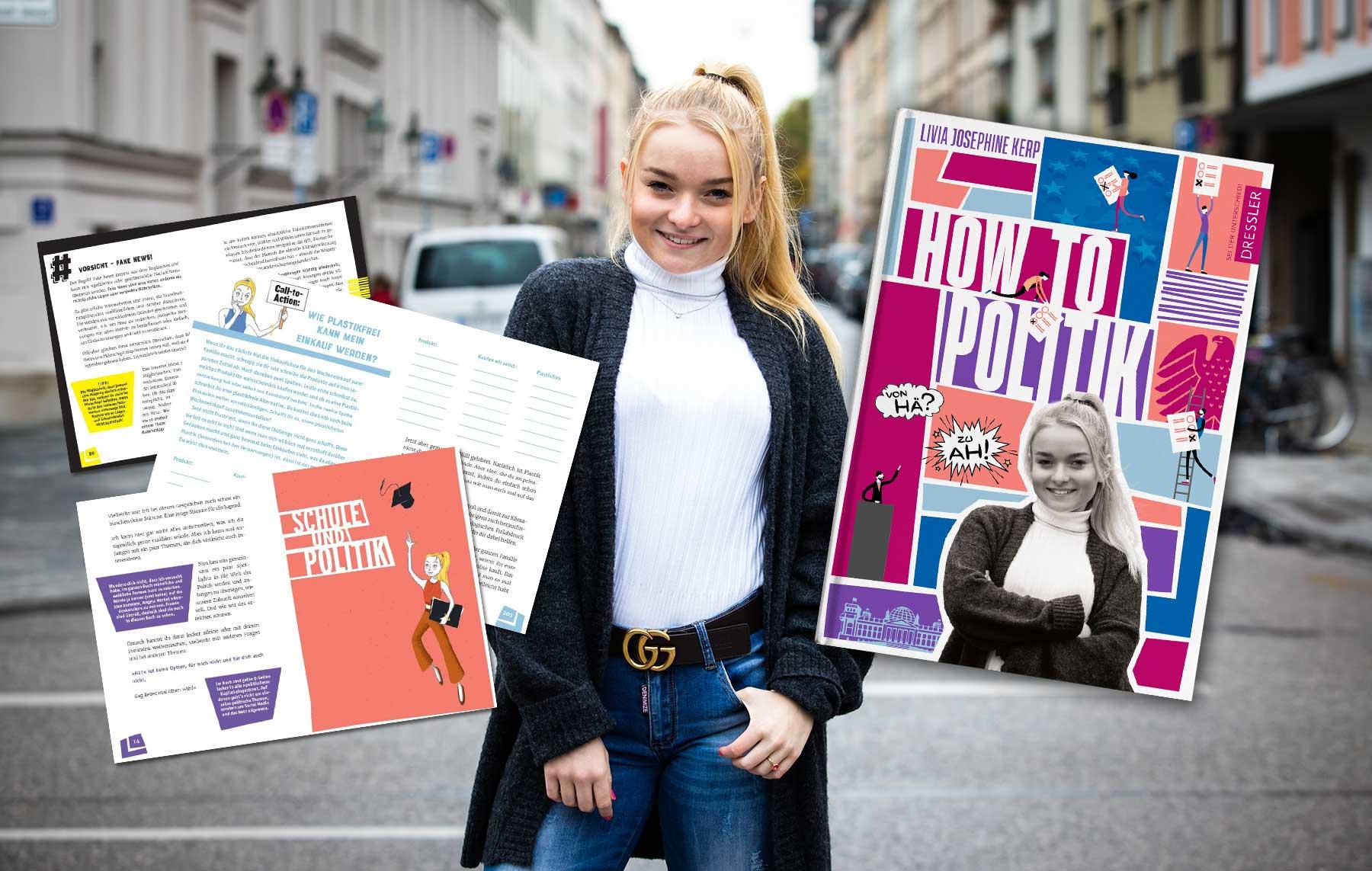 """Gedanken einer 19-Jährigen: """"How to Politik"""" - Vom Nagellackblog zum jugendpolitischen Buch livia-buch"""