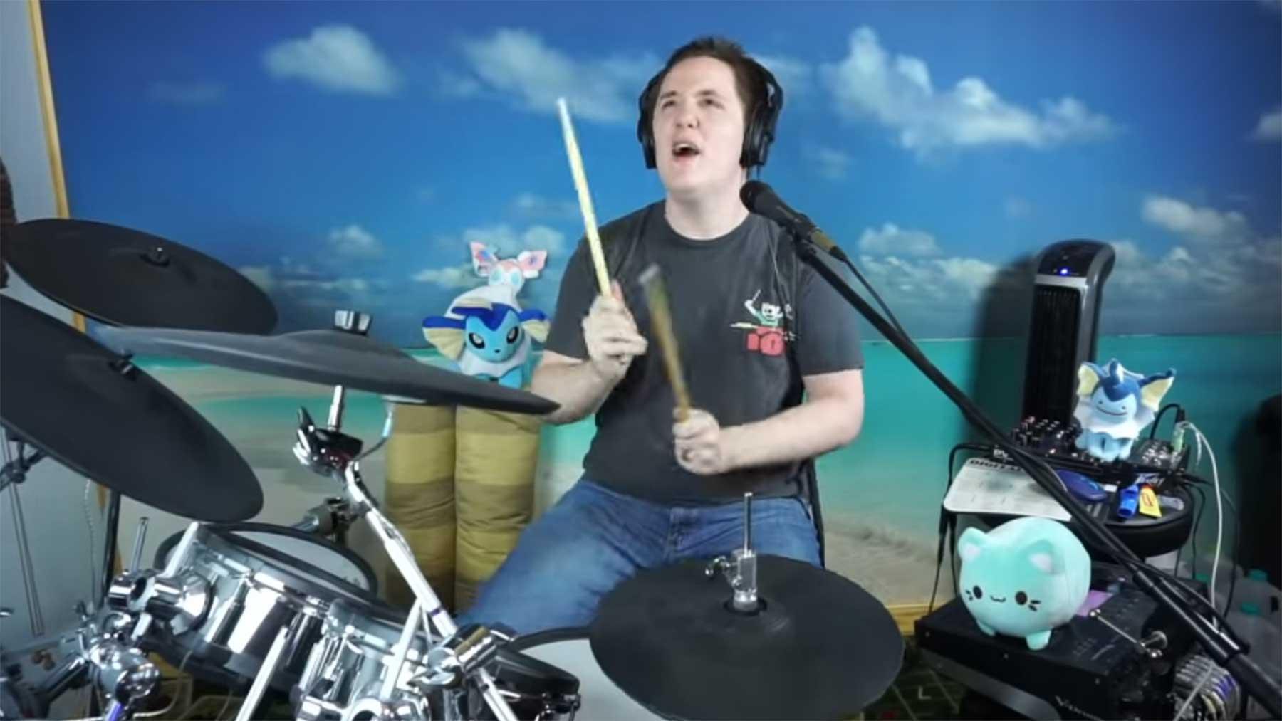 """Schlagzeuger spielt """"Master Of Puppets"""", aber bei jedem """"Master"""" wird's schneller master-of-puppets-gets-faster"""