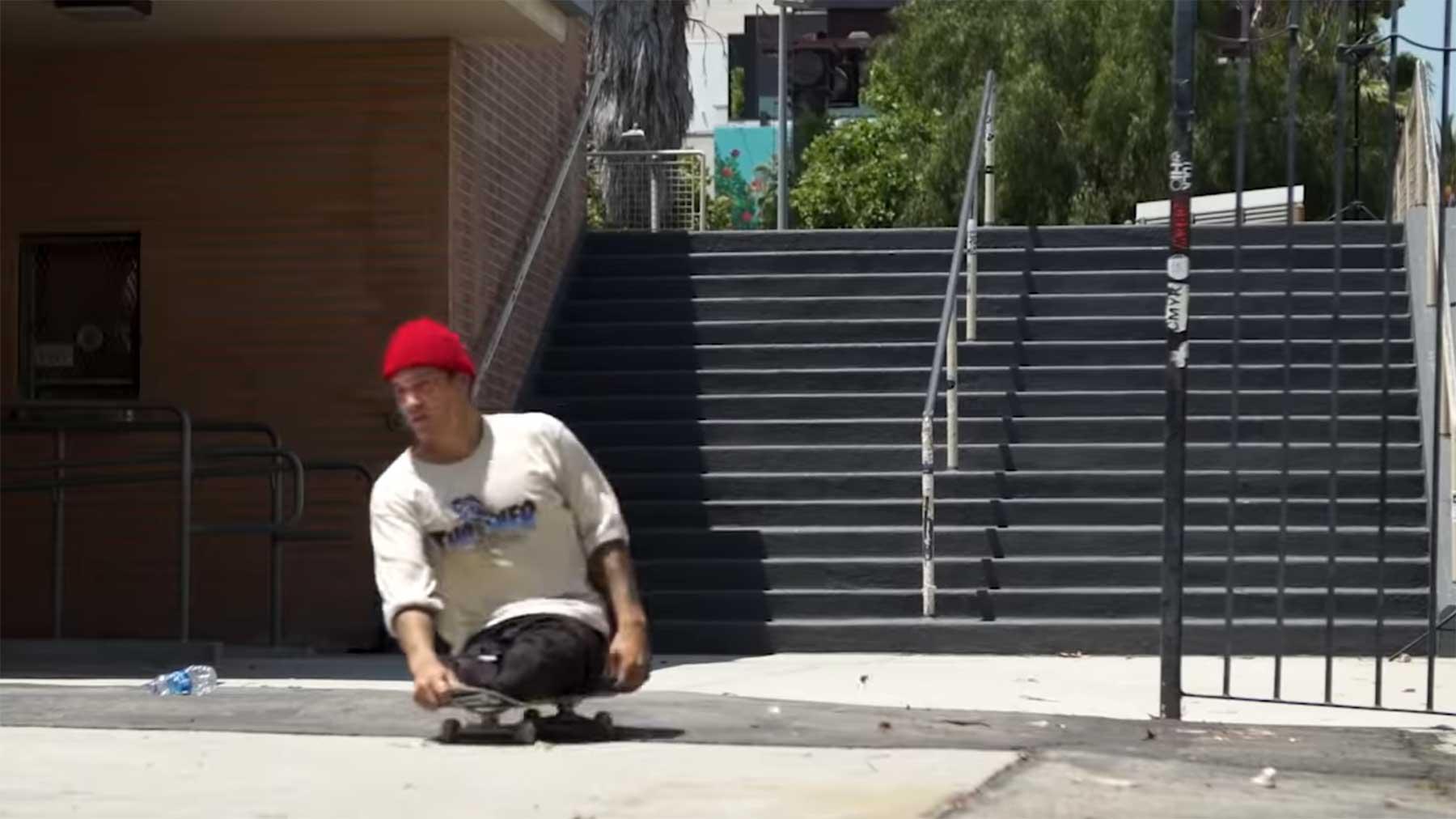 Felipe Nunes, der Skateboarder ohne Unterbeine
