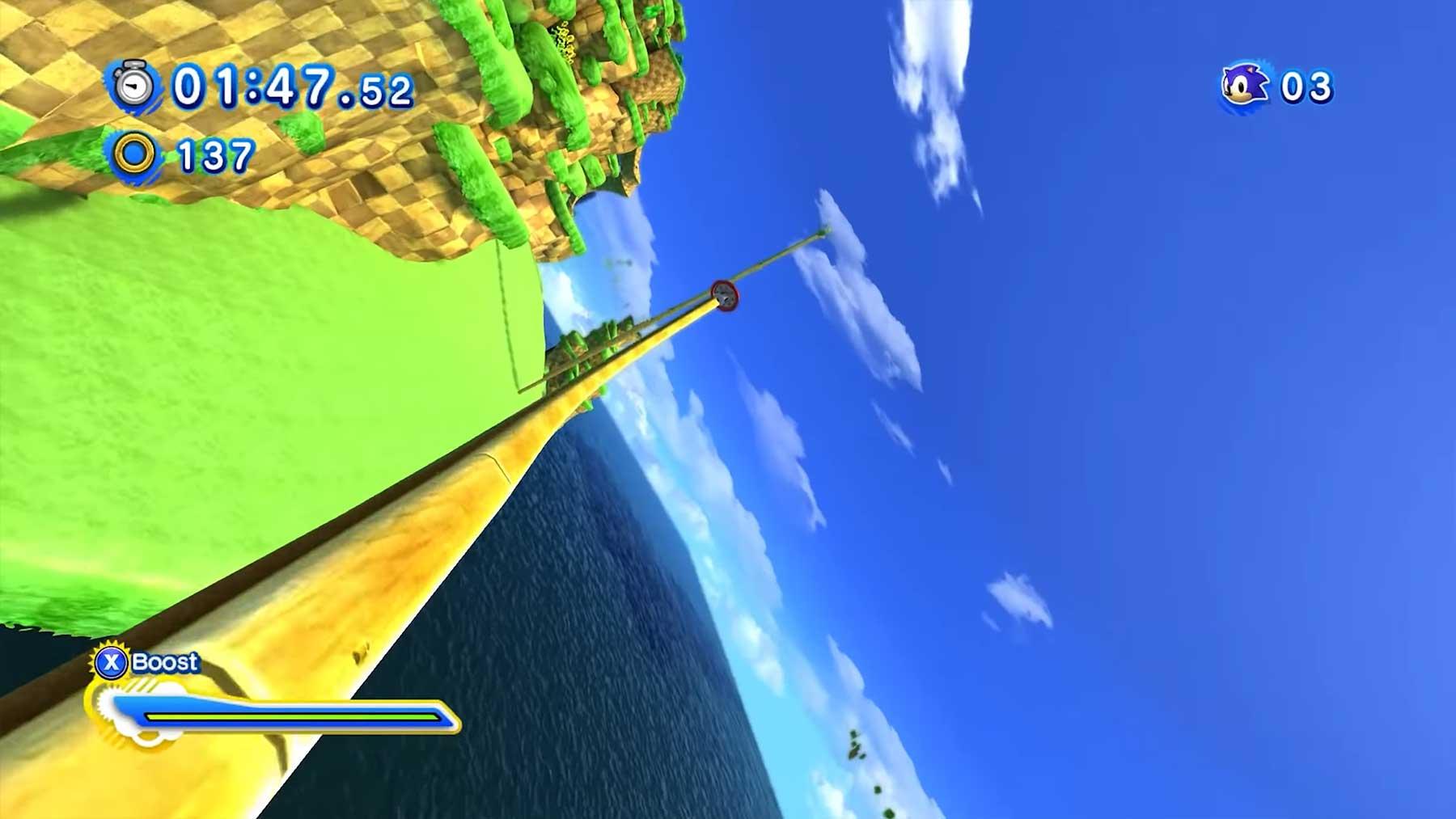 """""""Sonic"""" aus der Ego-Perspektive spielen"""