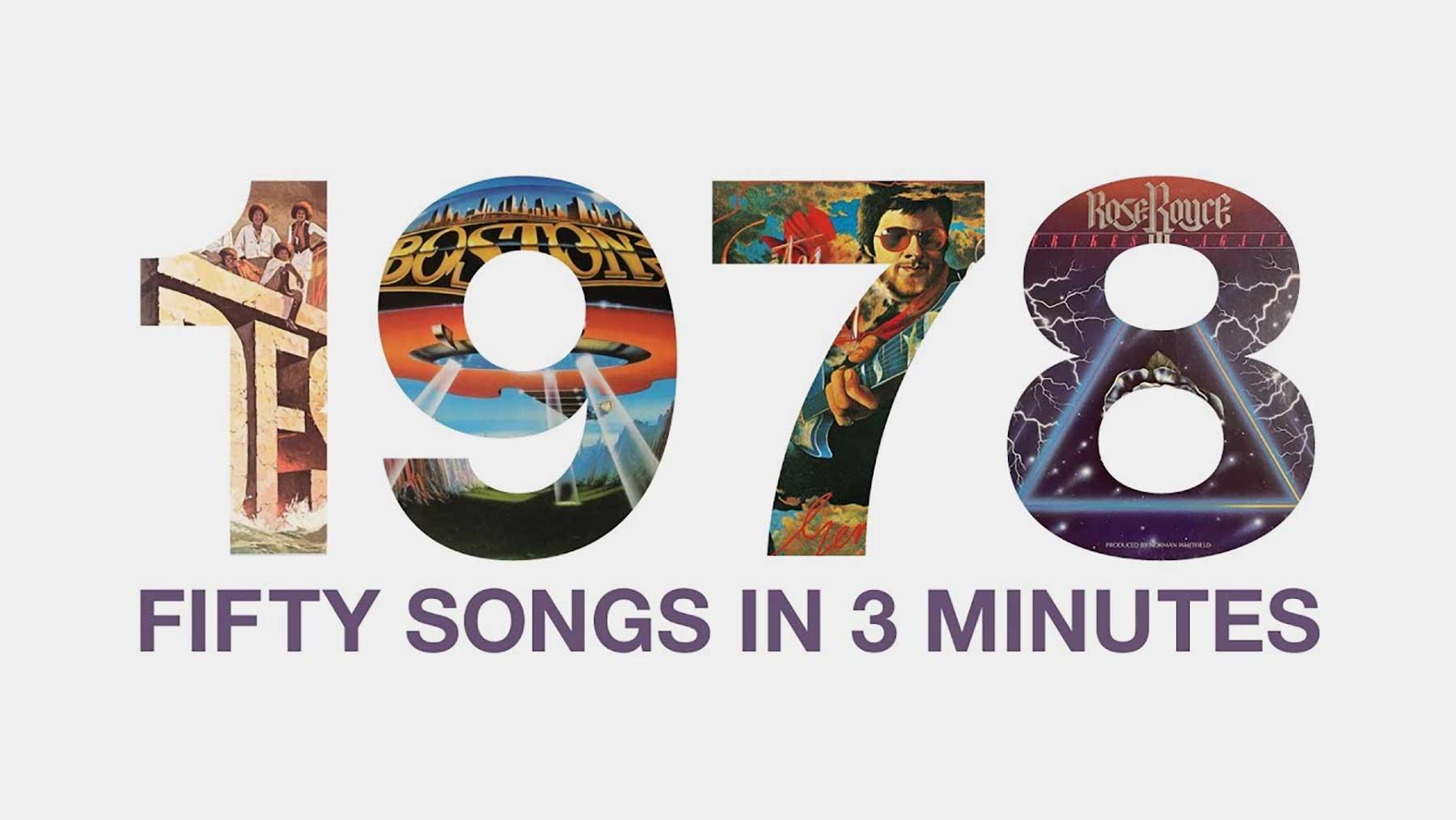 Mashup: Die 50 besten Songs des Jahres 1978 im 3-Minuten-Mix