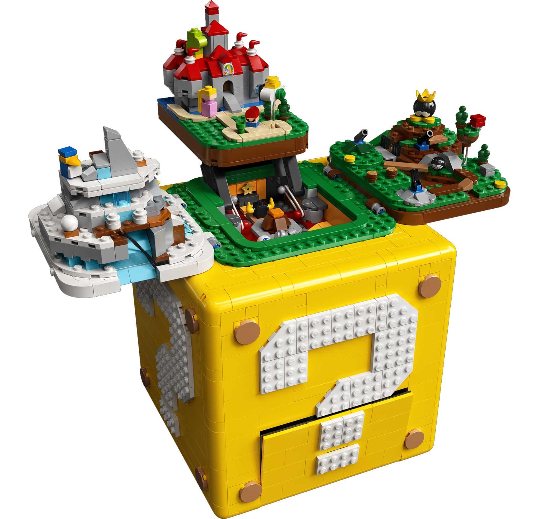 """LEGO-Set: Fragezeichen-Block aus """"Super Mario 64"""" LEGO-fragezeichen-block-super-mario-64_02"""