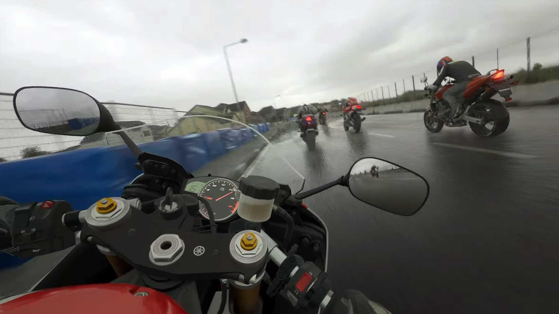 """Ultrarealistische Grafik im Motorrad-Rennspiel """"Ride 4"""""""