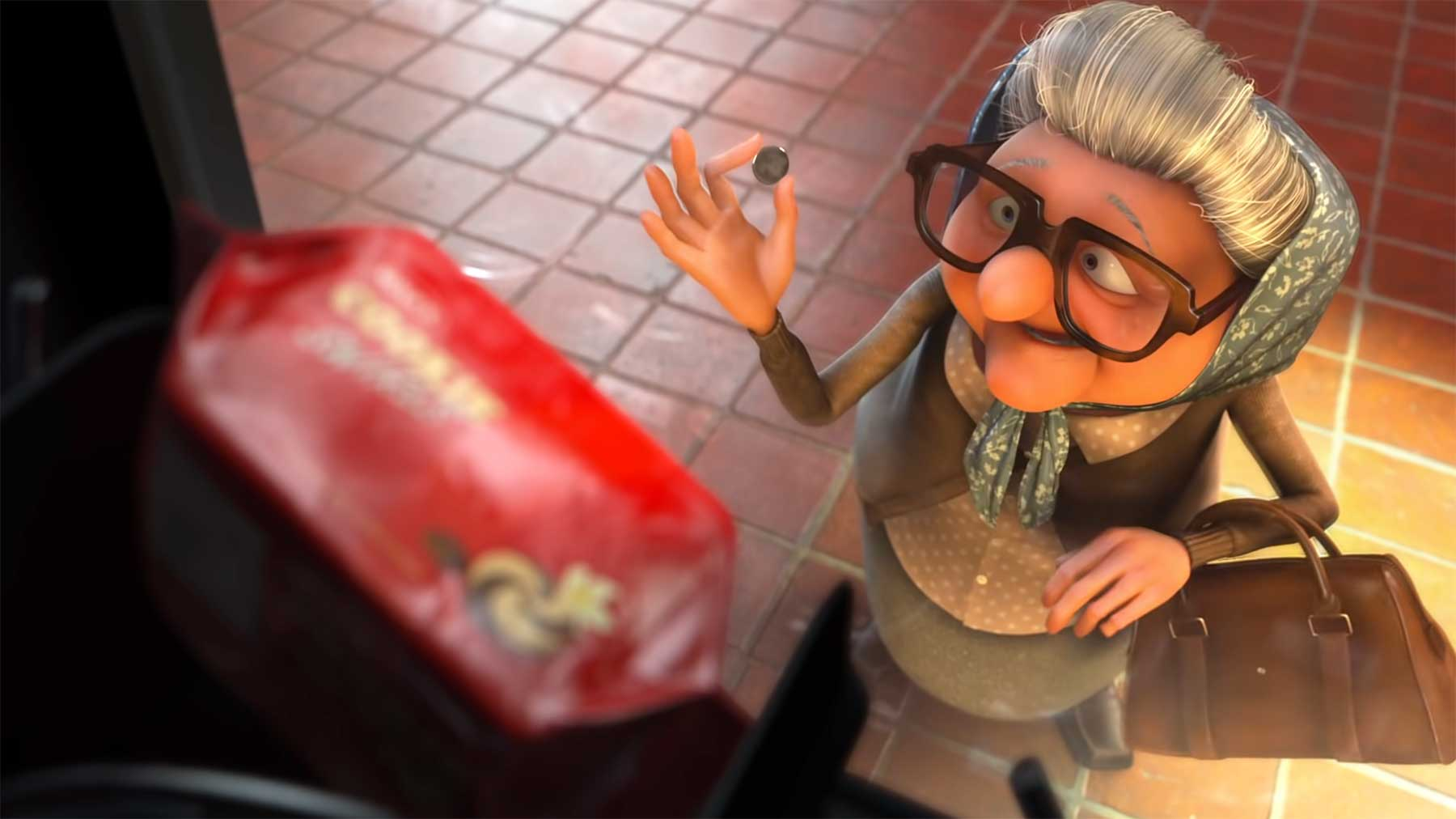 "Animierter Kurzfilm: ""Snack Attack"""