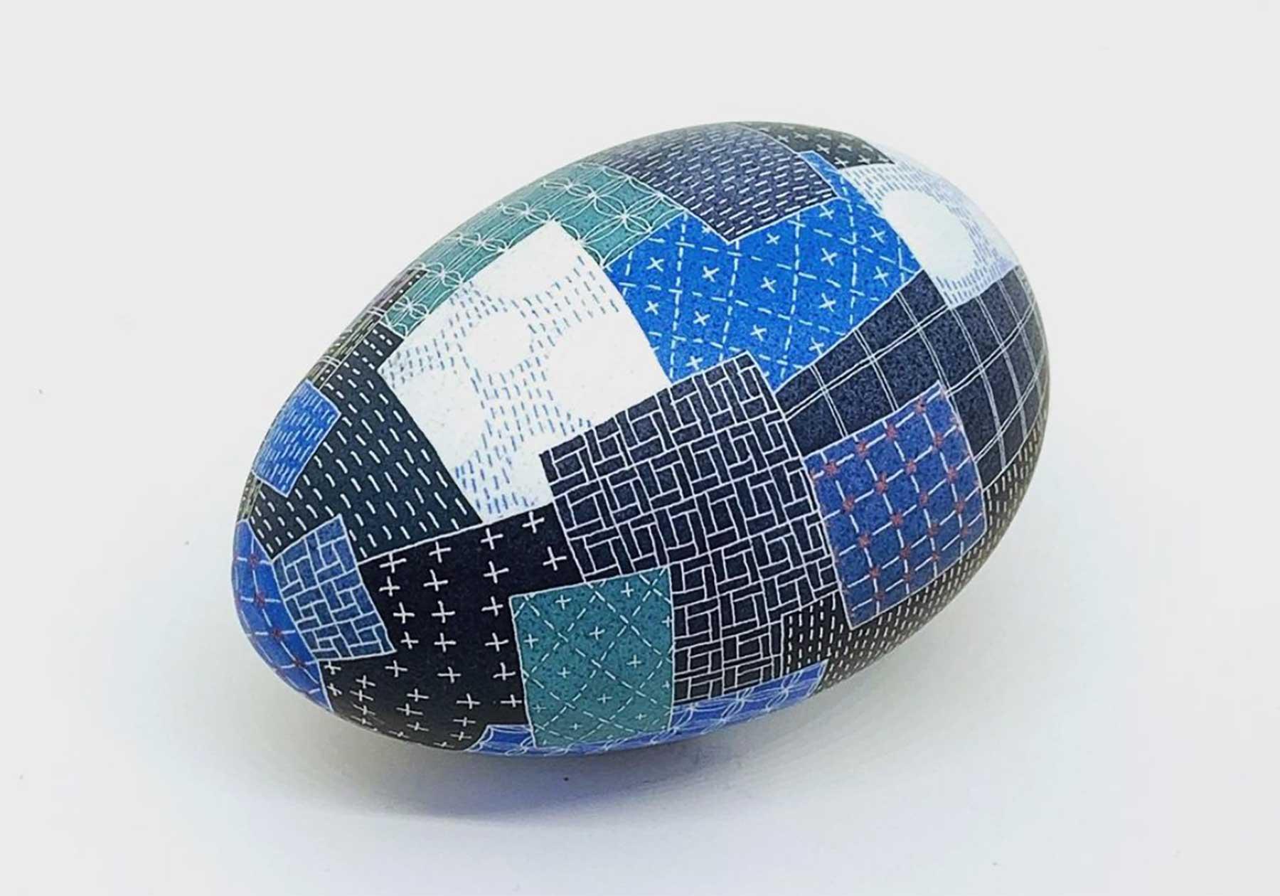 Kunstvoll bemalte Eier von Caroline Södergren