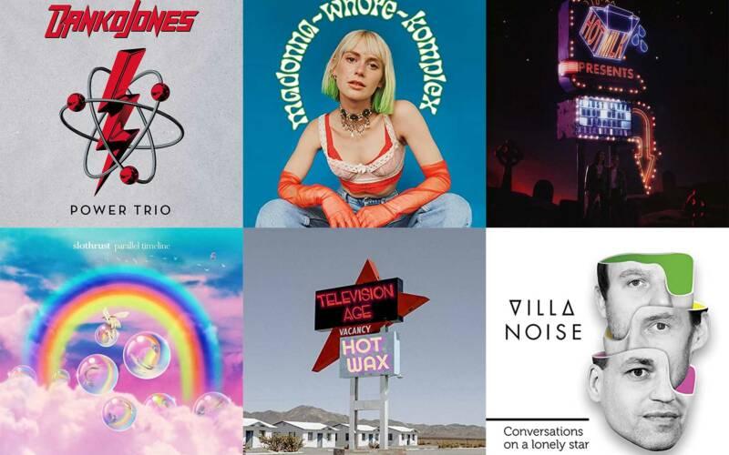 September-Kurzreviews: Neue Alben von Danko Jones, Alli Neumann, Hot Milk, Slothrust, Television Age & Villa Noise