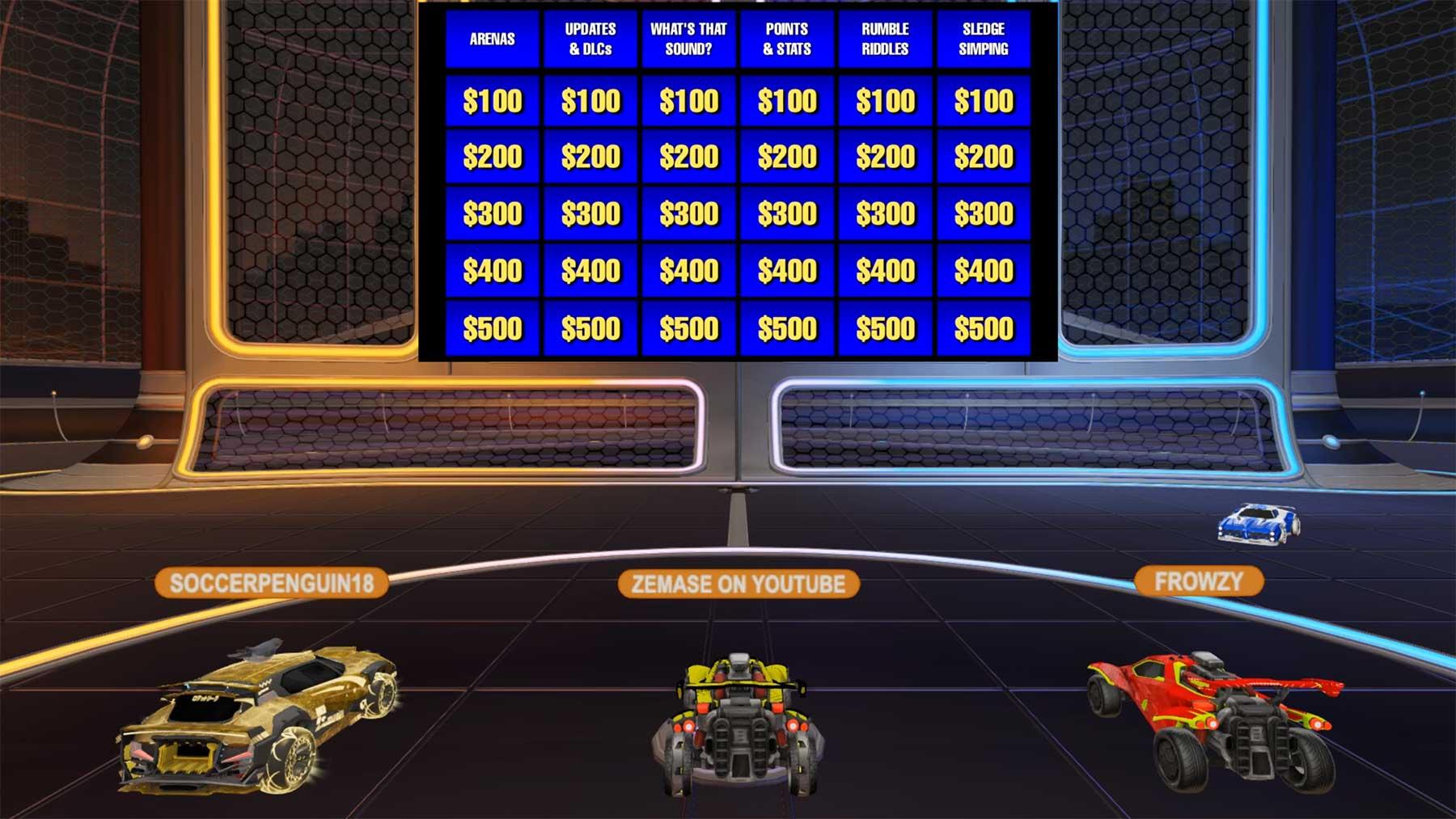 """Ich habe bei """"Rocket League Jeopardy"""" mitgemacht!"""