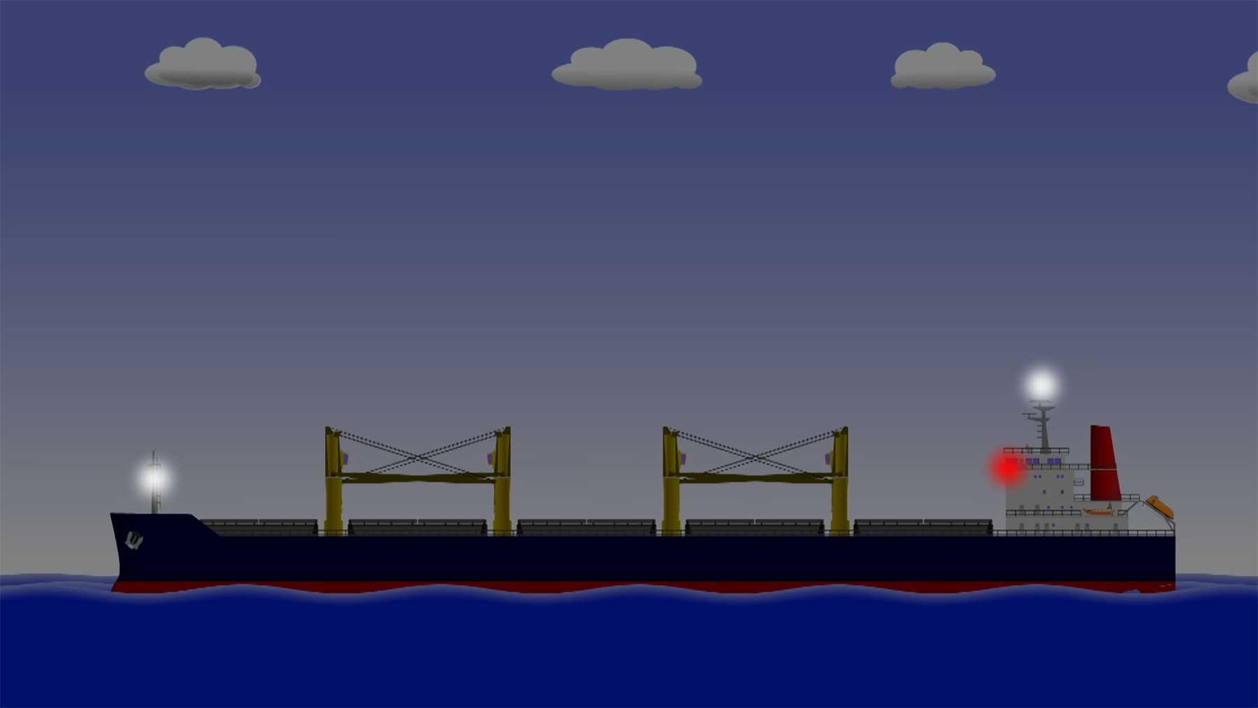 Weshalb Schiffe keine Scheinwerfer haben