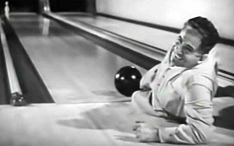 Bowling-Trickshots aus dem Jahr 1948