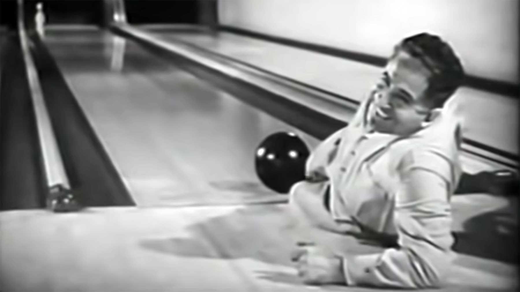 Bowling-Trickshots aus dem Jahr 1948 Bowling-trickshots-1948