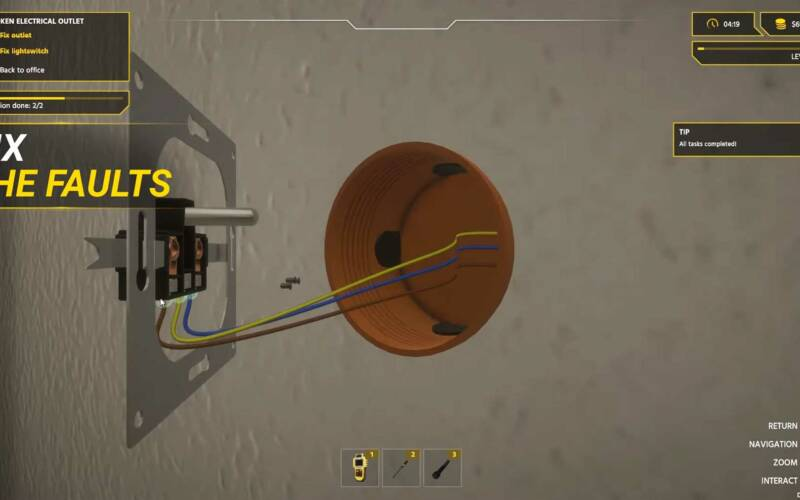 """In """"Electrician Simulator"""" könnt ihr Elektriker spielen"""