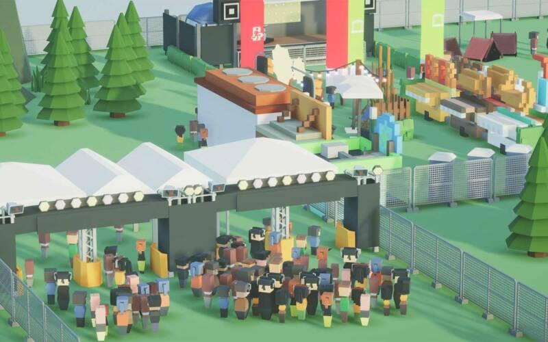 "Review: Aufbau-Simulation ""Festival Tycoon"""