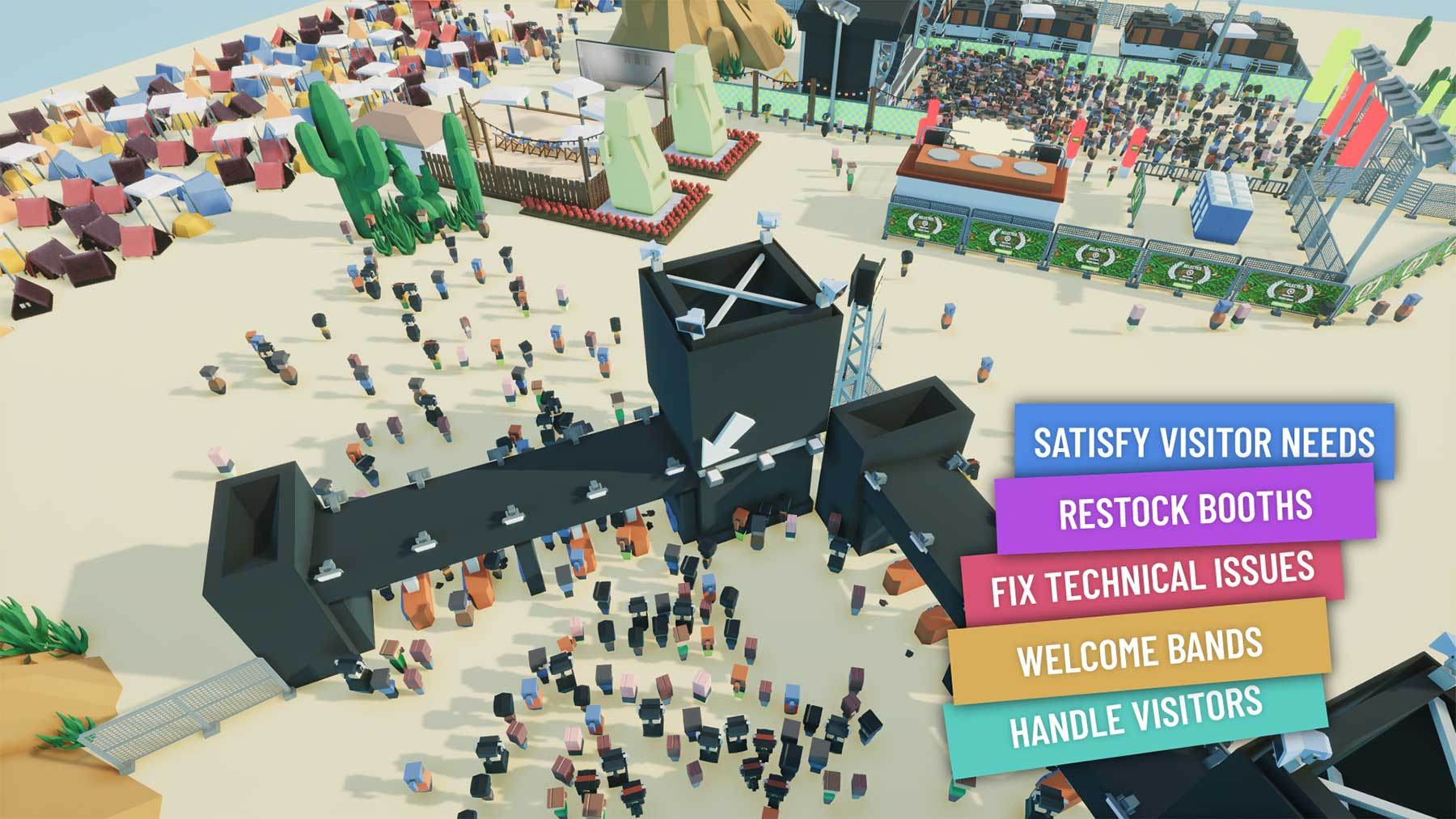"""Review: Aufbau-Simulation """"Festival Tycoon"""" Festival-Tycoon-early-access-test_01"""