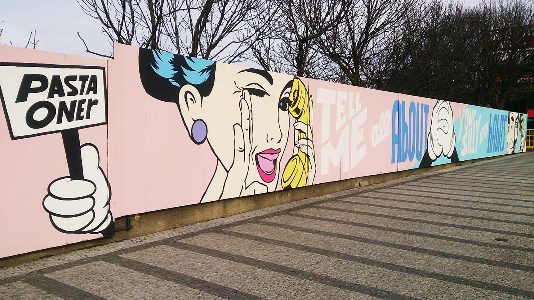 Popkultur: Ein Phänomen im Wandel der Zeit Graffiti-pixabay
