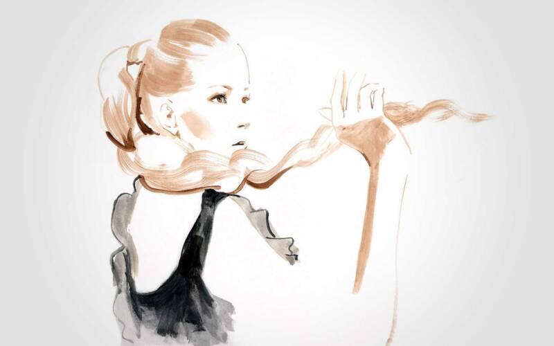 Malerei von Terumi Arai