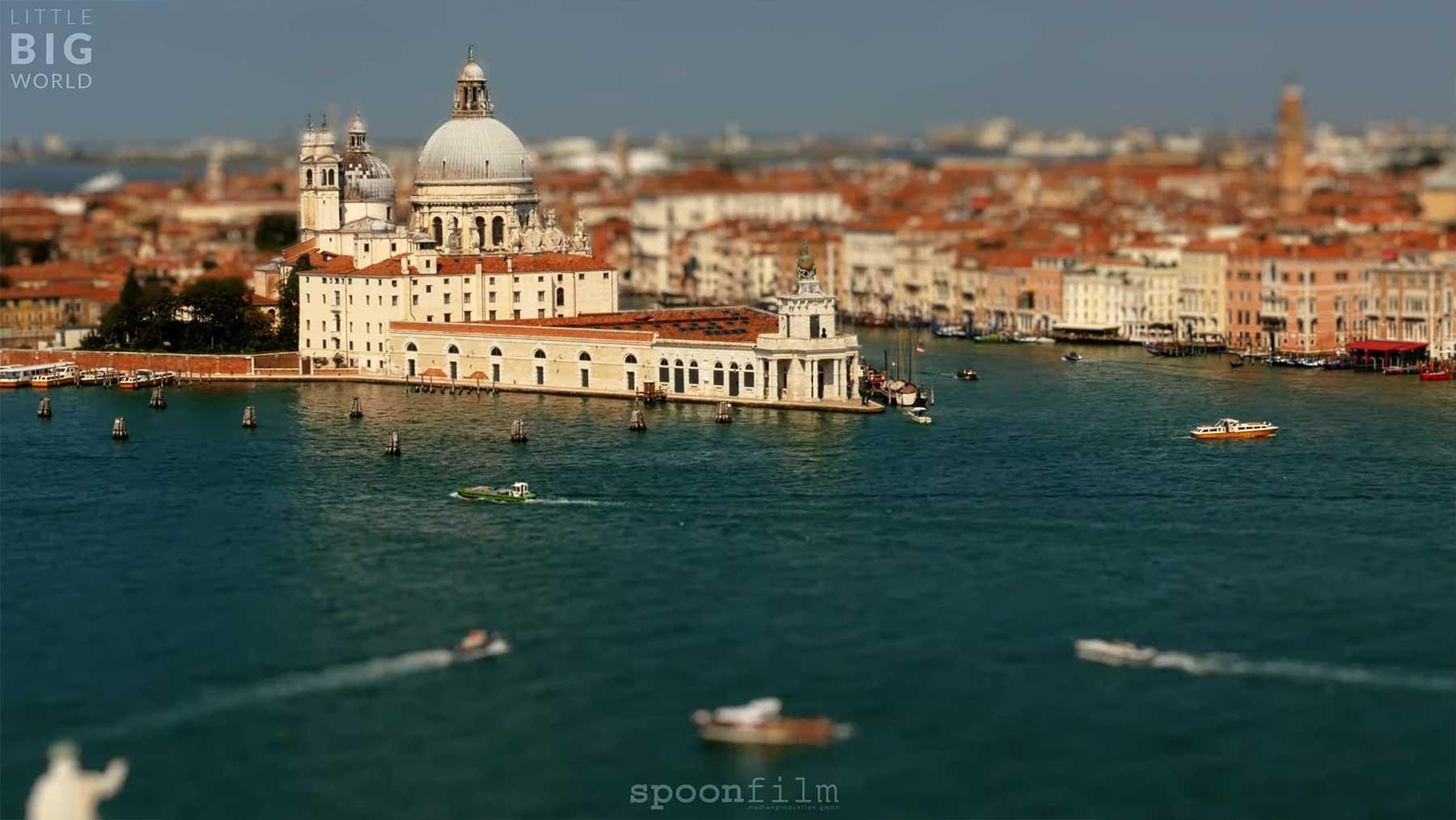 """Tilt-Shift-Video: """"Viva Venezia"""""""
