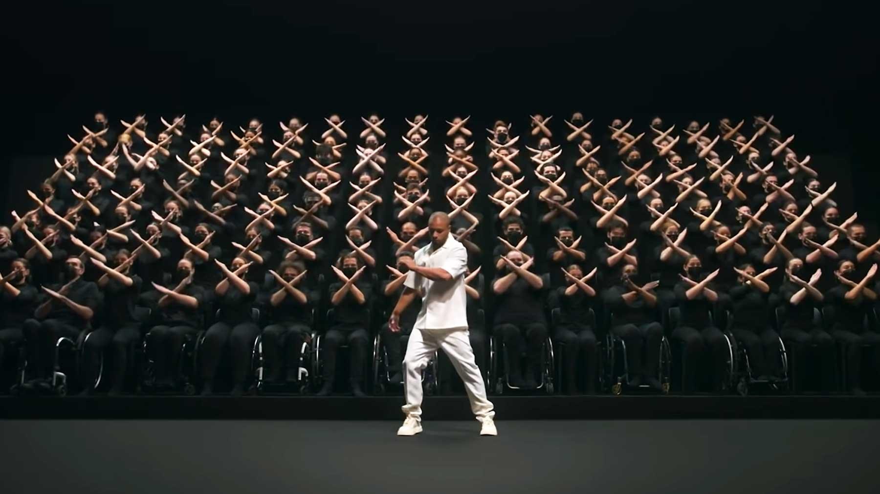 Stylische Choreografie zum Abschluss der Paralympischen Spiele 2020
