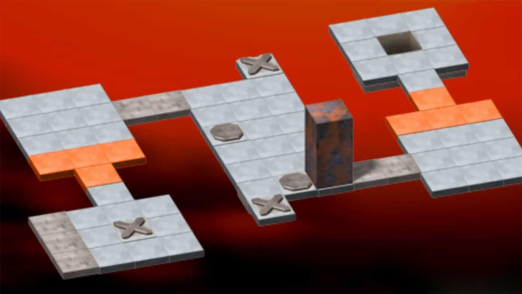"""Wohlfühl-Speedrun des Block-Puzzlespieles """"Bloxorz"""" bloxorz-speedrun"""